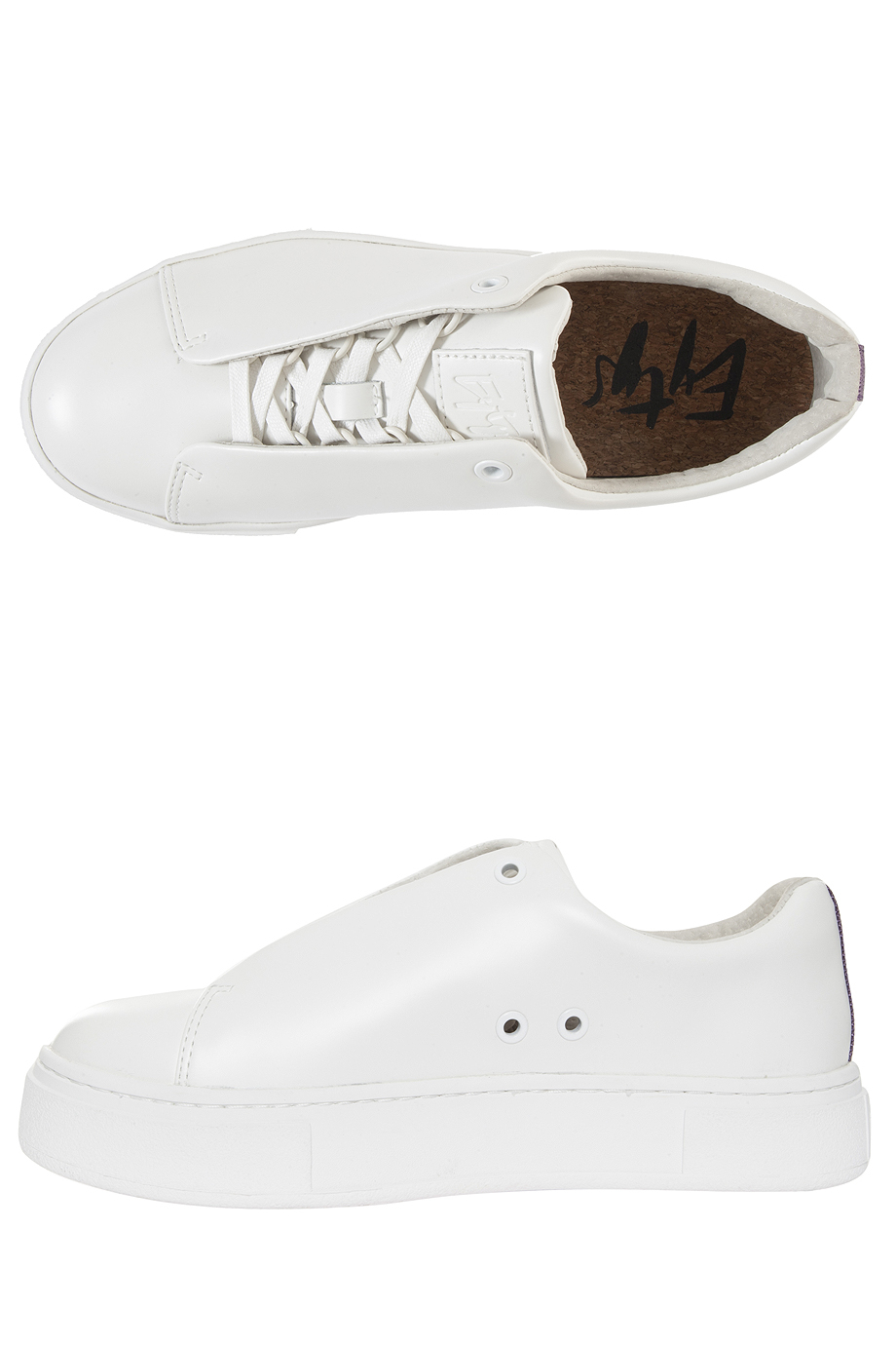 Eytys White Doja Leather Sneakers sale explore get to buy cheap online free shipping explore low shipping online outlet store locations bZ3TPFuE