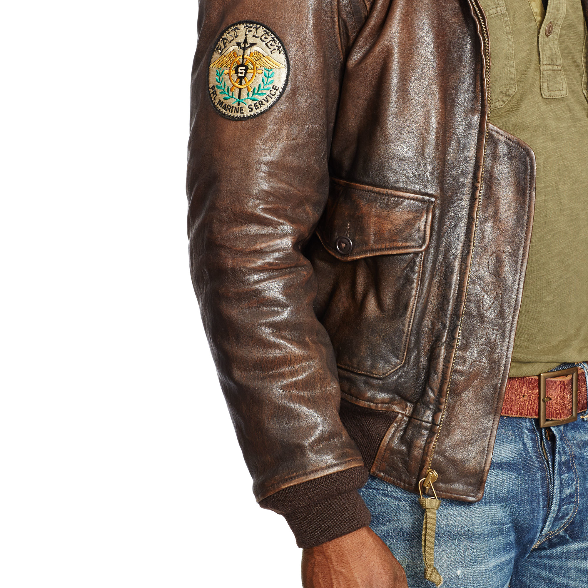 c87f39884 Polo Ralph Lauren Mens The Iconic Bomber Jacket | Toffee Art
