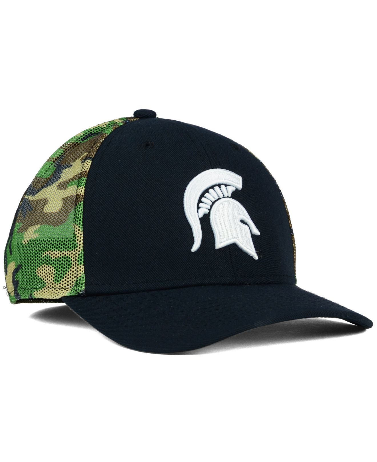 eff229d817aaf ... where can i buy lyst nike michigan state spartans camo hook swooshflex  cap in d6eb4 37621