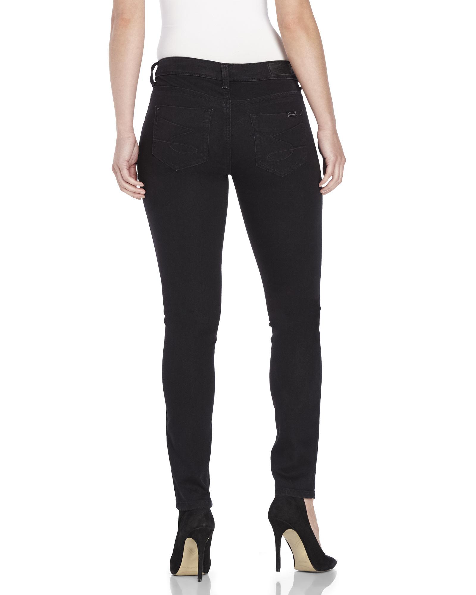 Seven Black Jeans - Jeans Am