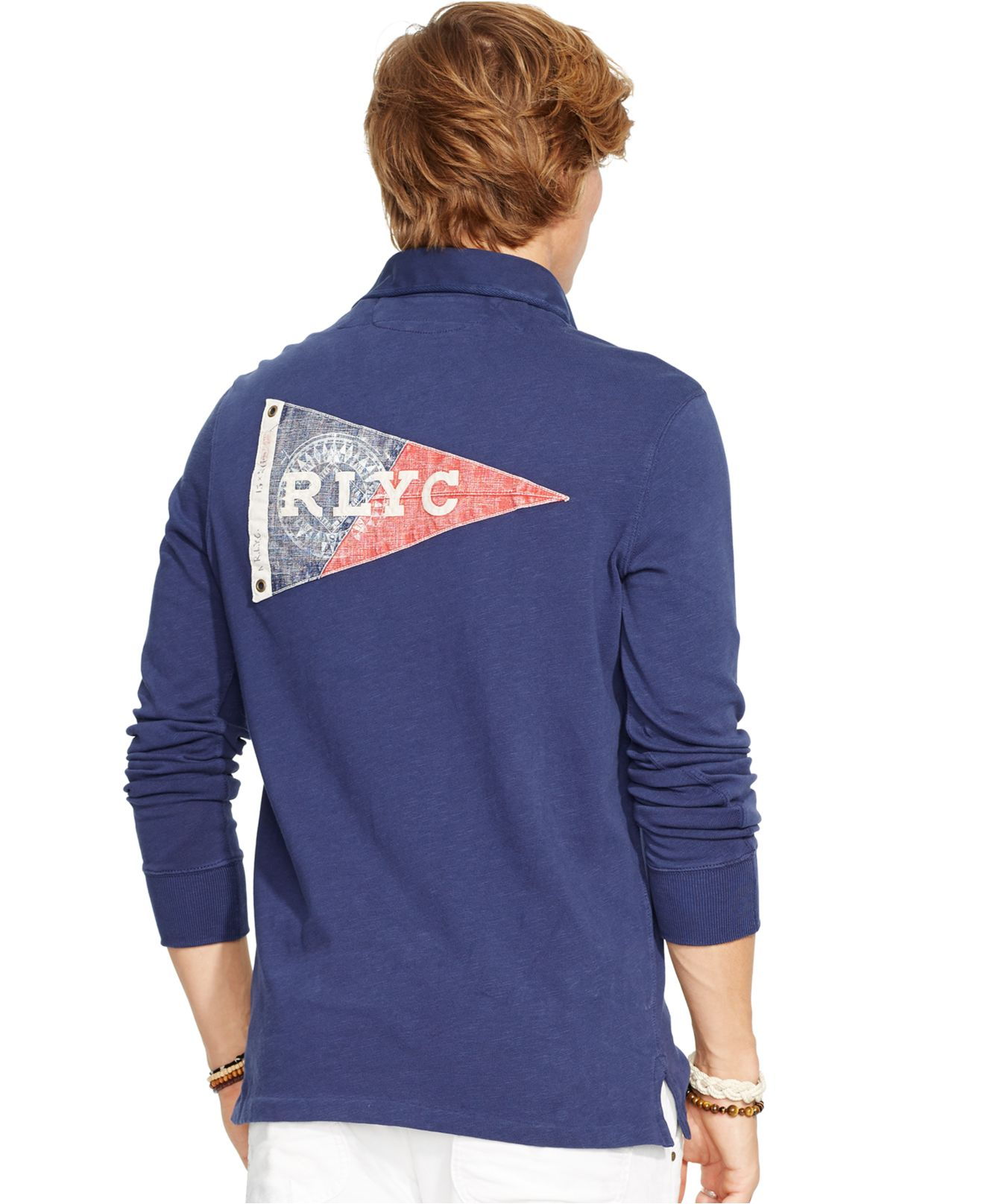 Lyst Polo Ralph Lauren Yacht Club Jersey Rugby Shirt In