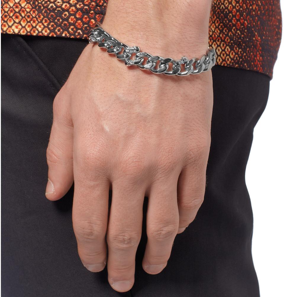 Gallery Previously Sold At Mr Porter Men S Cord Bracelets Resin Alexander Mcqueen