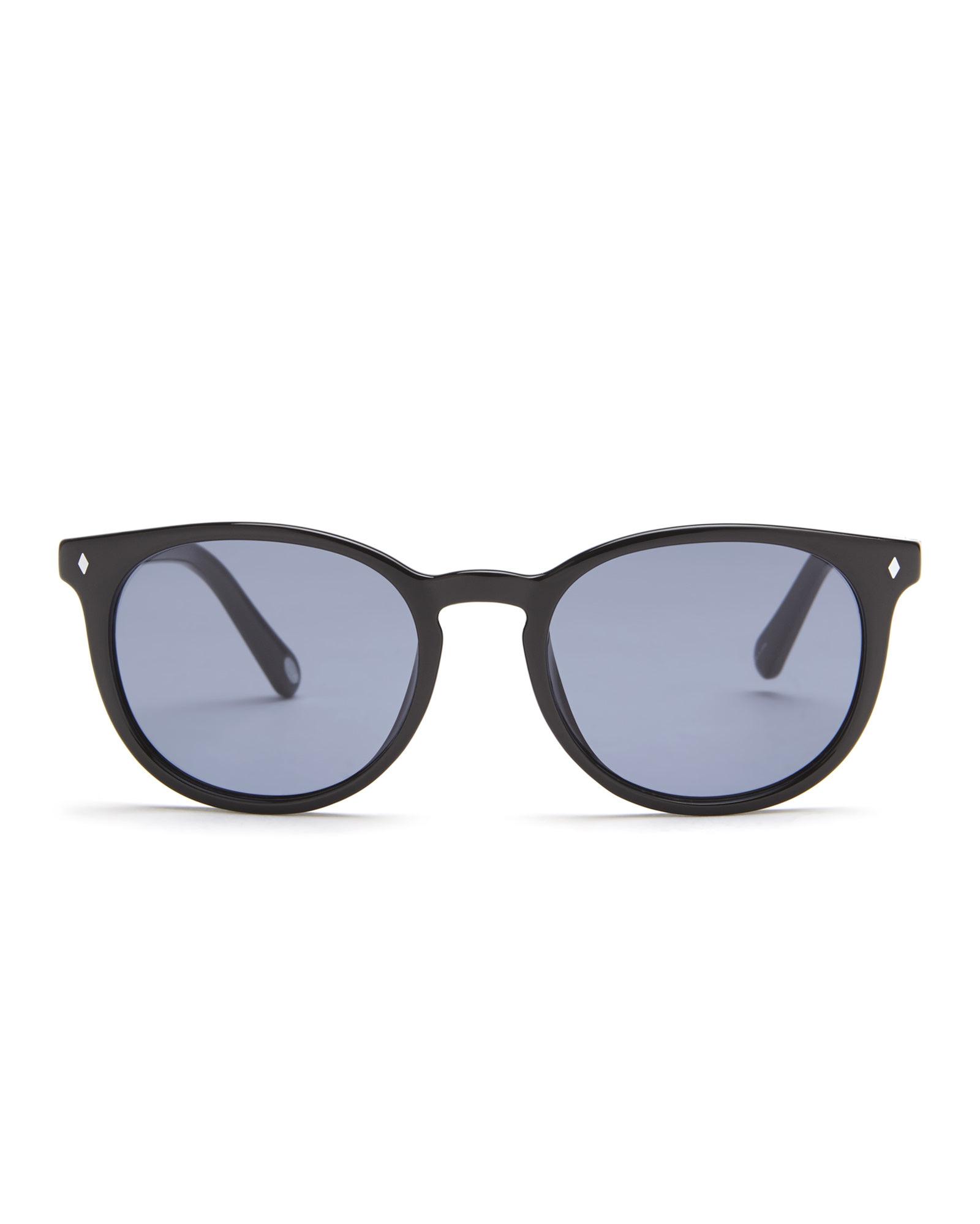 883099ae03 Lyst - Fossil Black 3016 S Pantos Sunglasses in Black