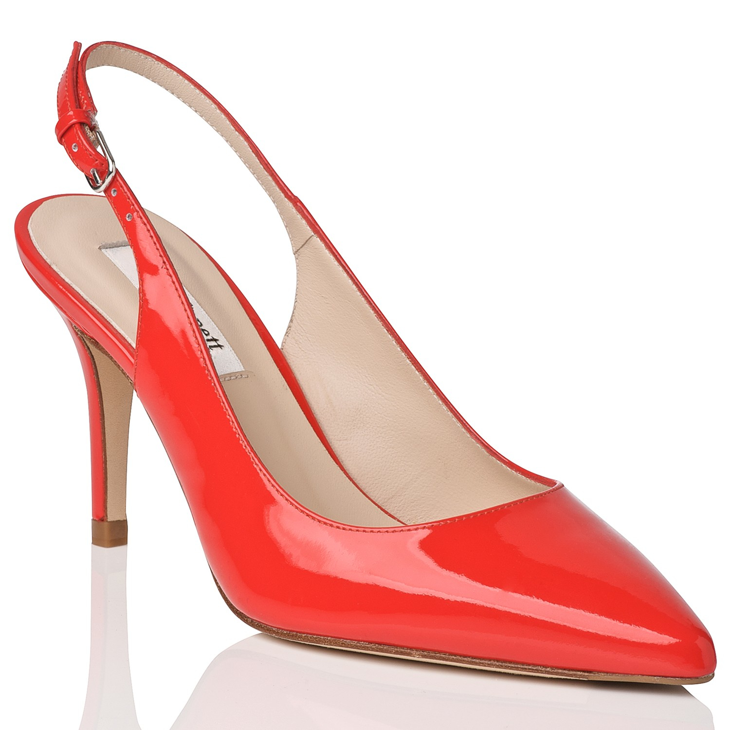 Red Pointed Shoes Uk