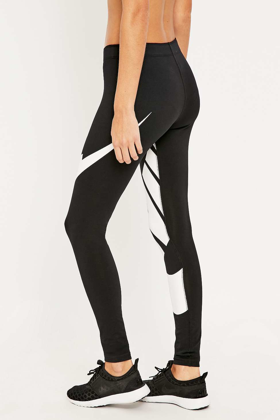 8f963e52bd330 Nike Leg-a-see Exploded Leggings in Black - Lyst