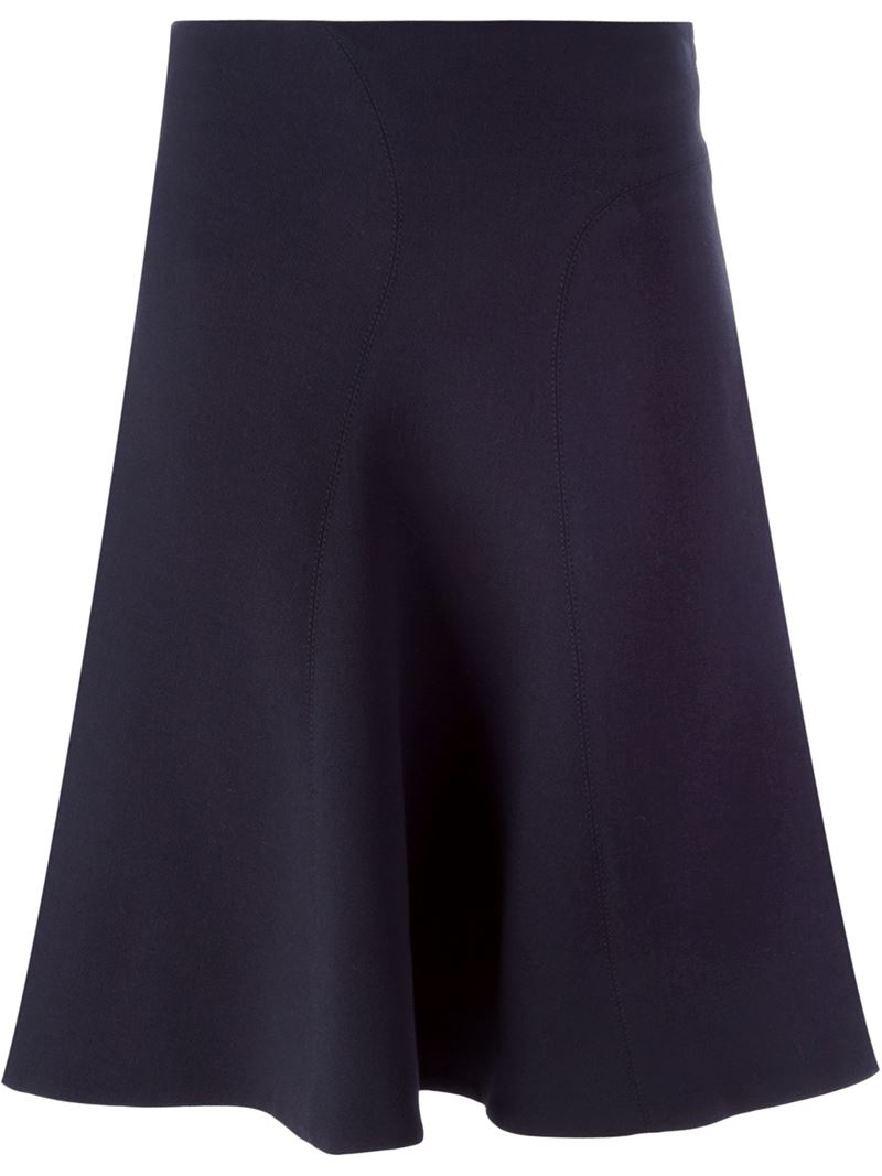 marni classic a line skirt in black lyst