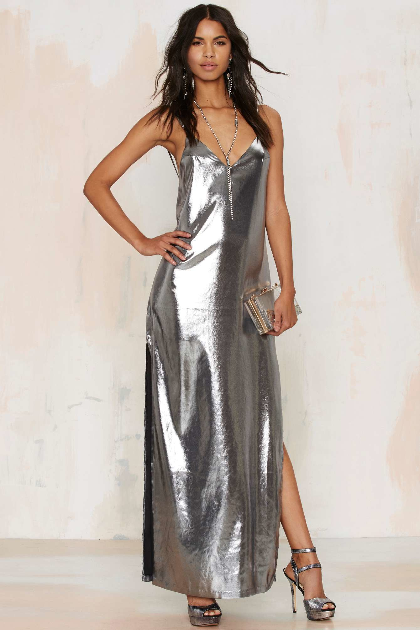Free shipping BOTH ways on metallic dresses, from our vast selection of styles. Fast delivery, and 24/7/ real-person service with a smile. Click or call