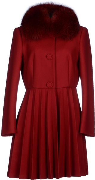 Sale Red Coat By RED Valentino Deals