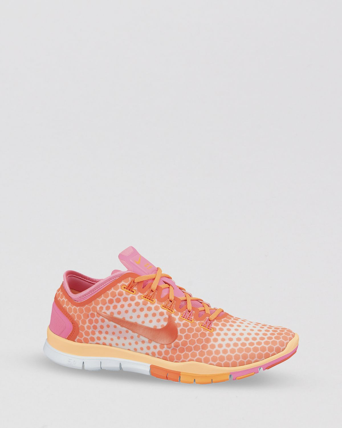 00d1f272a29c ... where to buy lyst nike lace up sneakers womens free tr connect 2 in  orange 9ae80