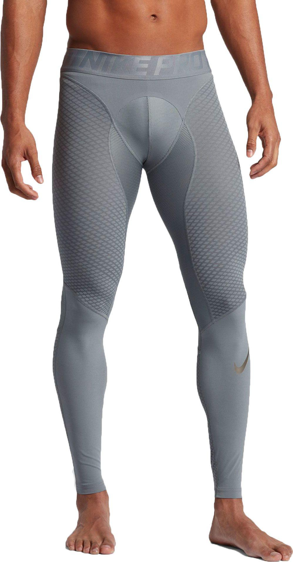 3ea311e056 Nike Pro Zonal Strength Hyper Compression Tights in Gray for Men - Lyst