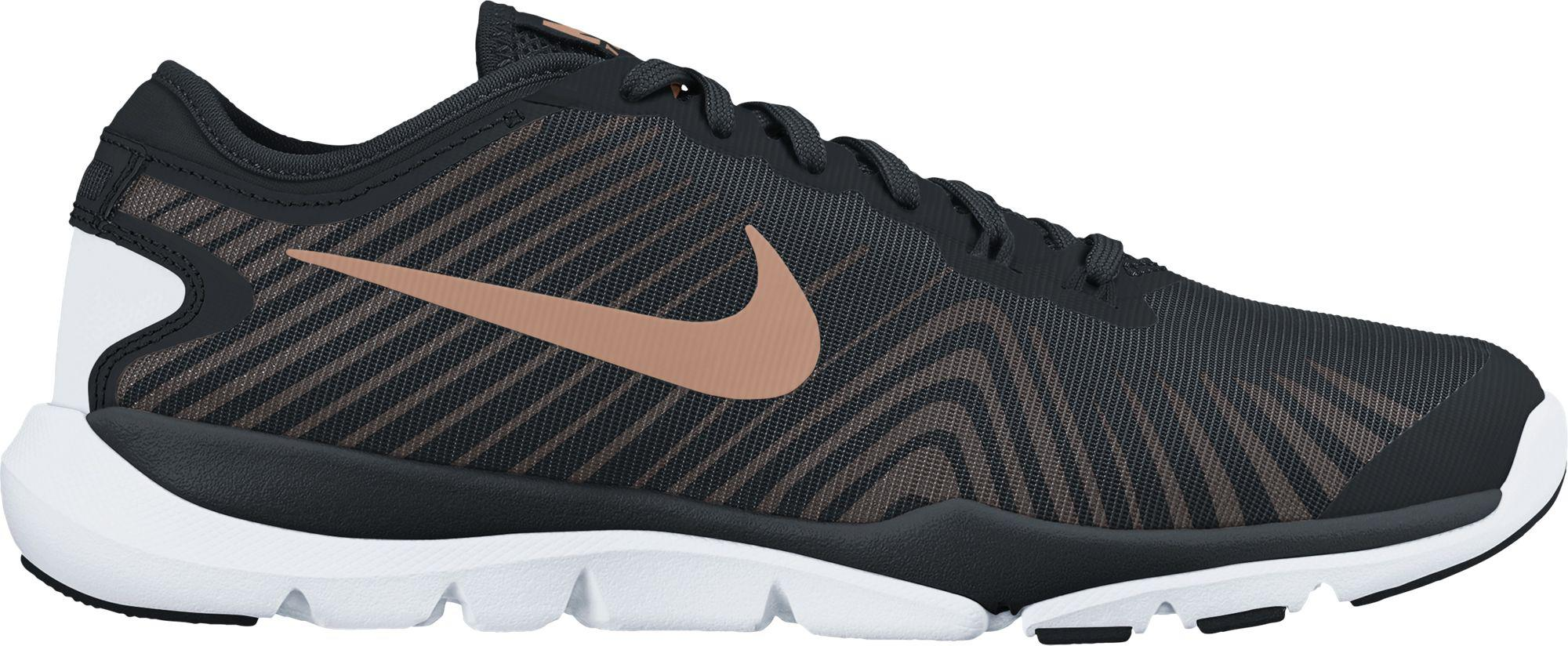 huge discount e6f9d 9ded0 Lyst - Nike Flex Supreme Tr 4 Training Shoes in Black for Men
