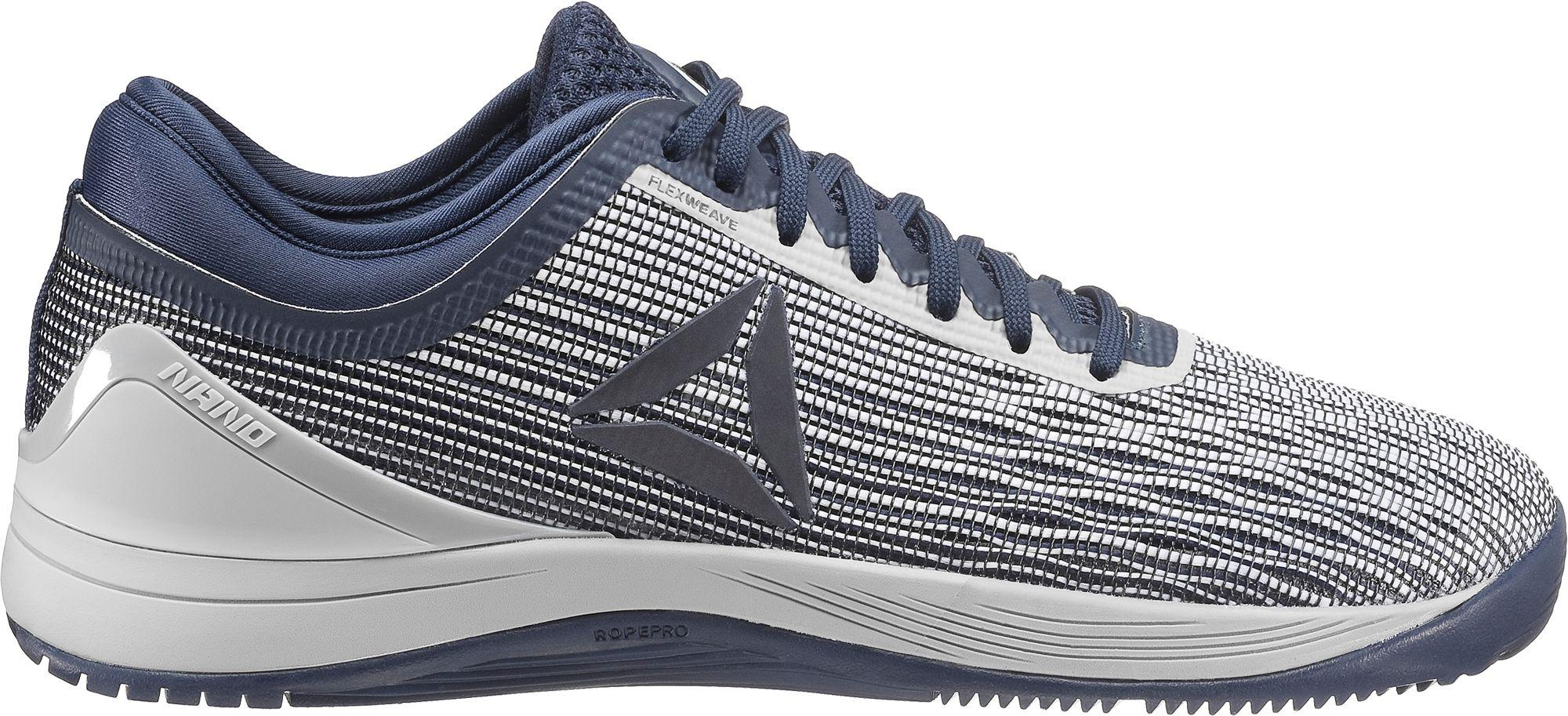 5ebbb2e5382933 Lyst - Reebok Crossfit Nano 8.0 Flexweave Training Shoes in Blue for Men