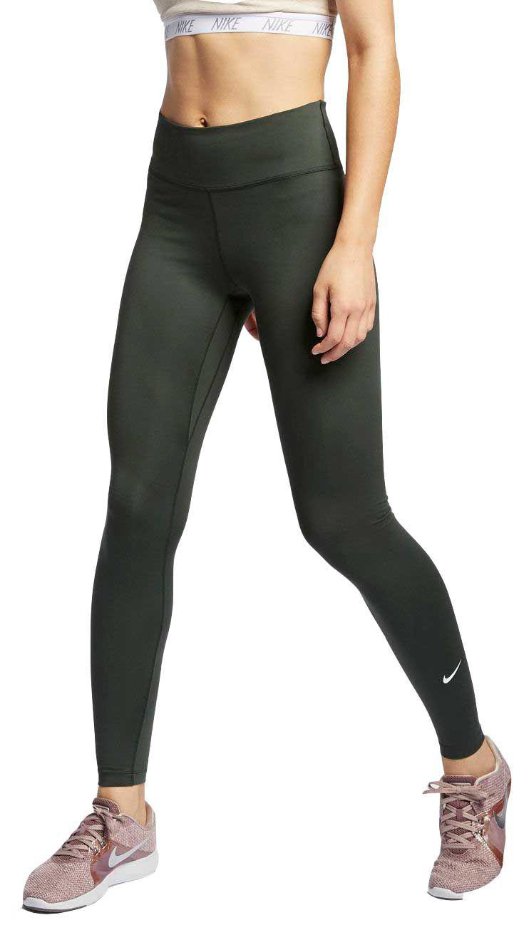6fc0682930 Lyst - Nike One Training Tights in Green