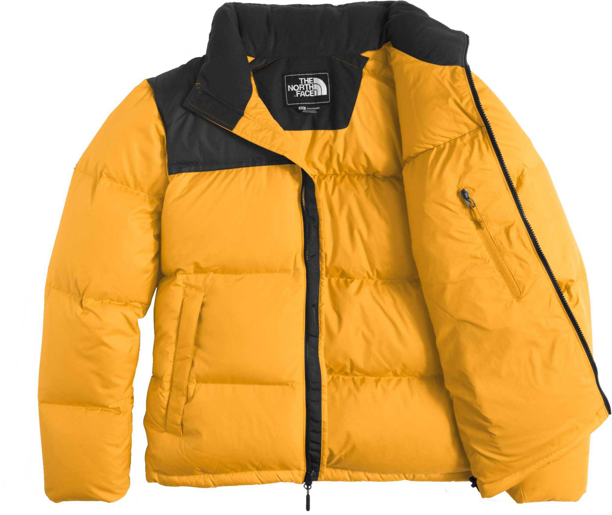 328cb3d171 ... usa lyst the north face novelty nuptse down jacket in yellow for men  f5ad5 0391e