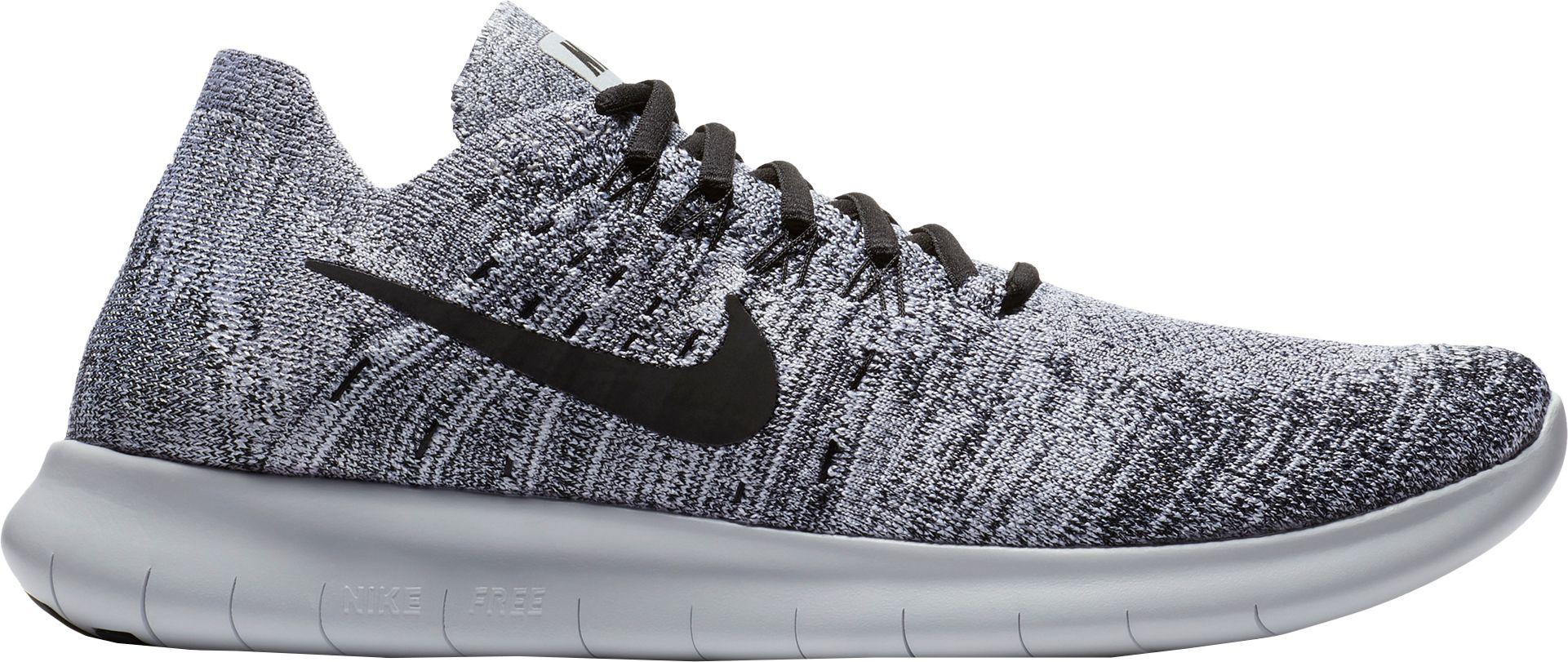 a53c3478c316 ... shop nike gray free rn flyknit 2017 running shoes for men lyst 4a1a3  790ee