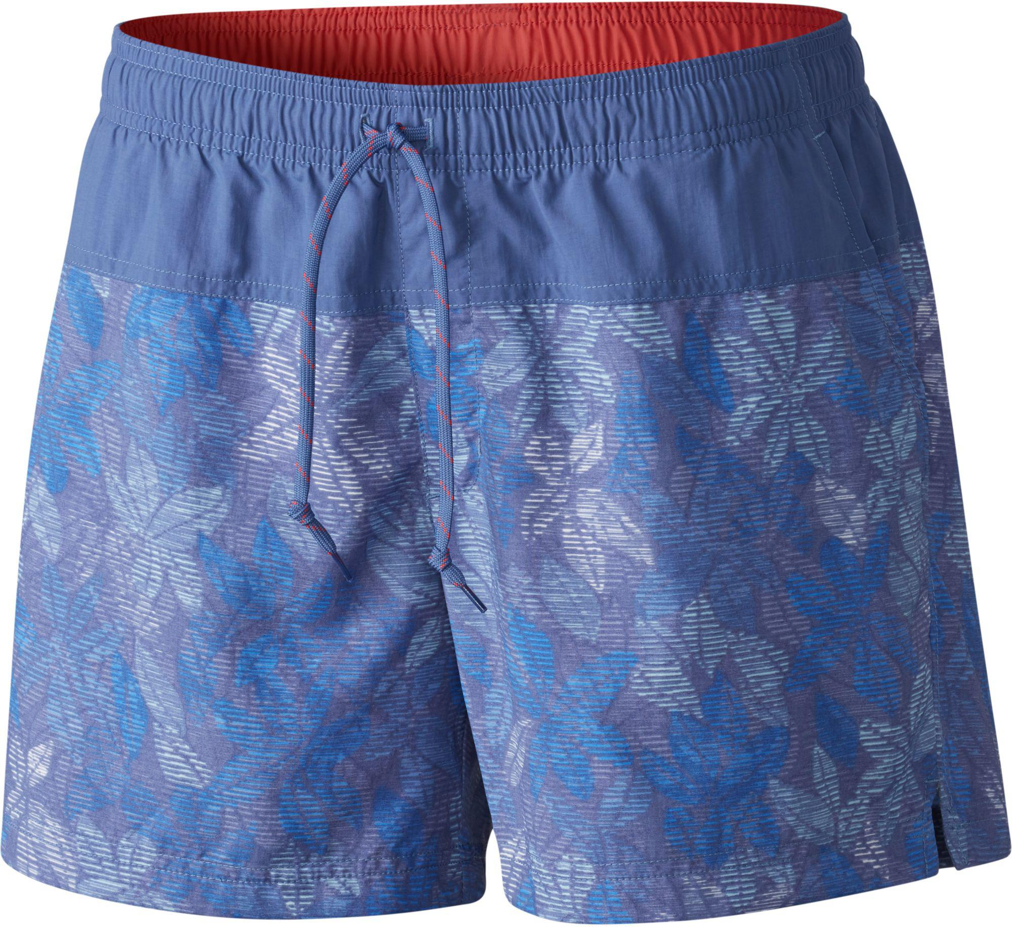 6e762ad58d Lyst - Columbia Sandy River Printed Shorts in Blue for Men