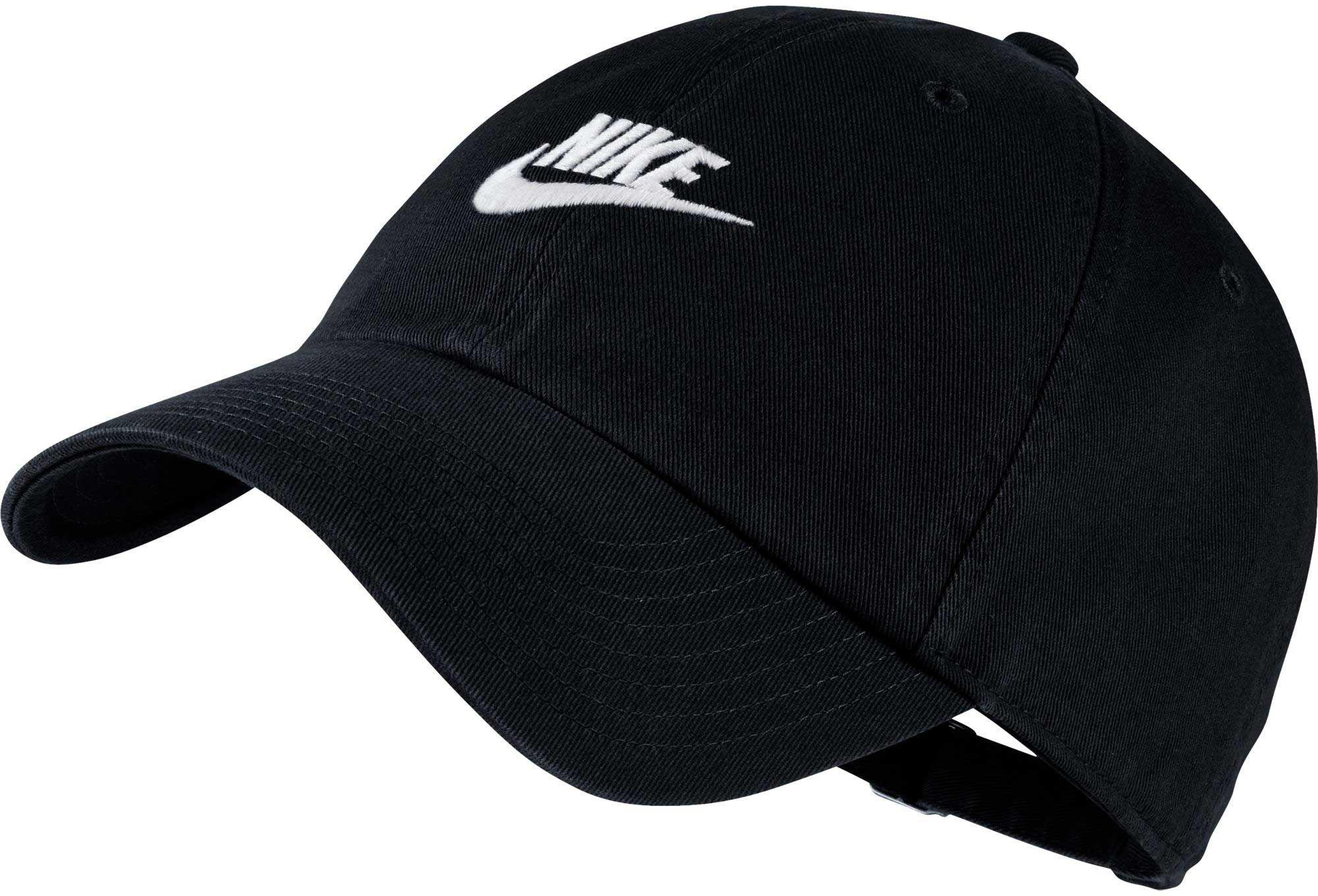 c5f12dc5dda3f Nike Sportswear H86 Cotton Twill Adjustable Hat in Black for Men - Lyst