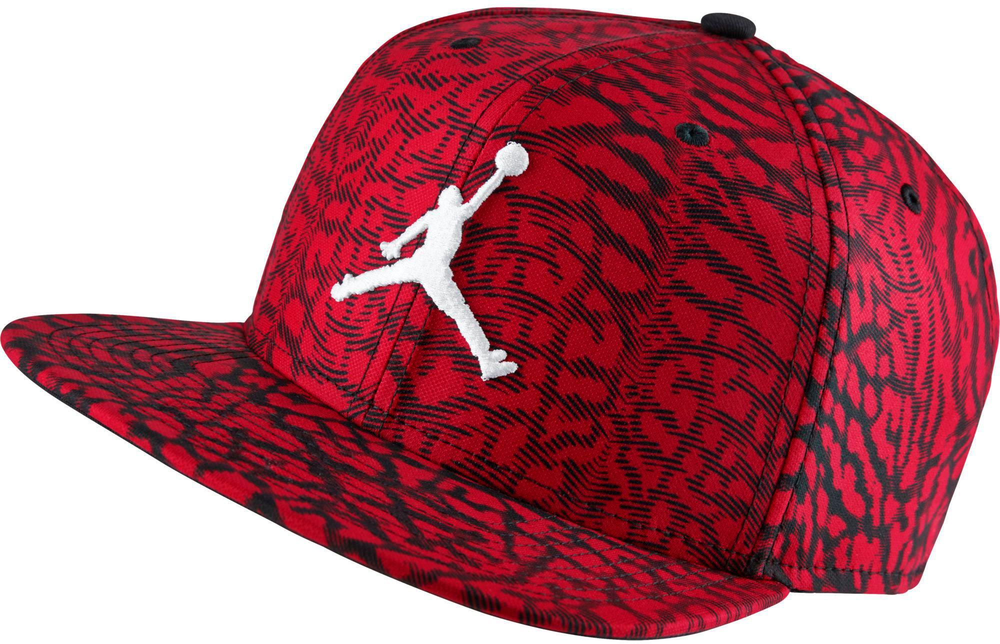 e8750d14 Nike Jordan Jumpman Seasonal Adjustable Hat in Red for Men - Lyst