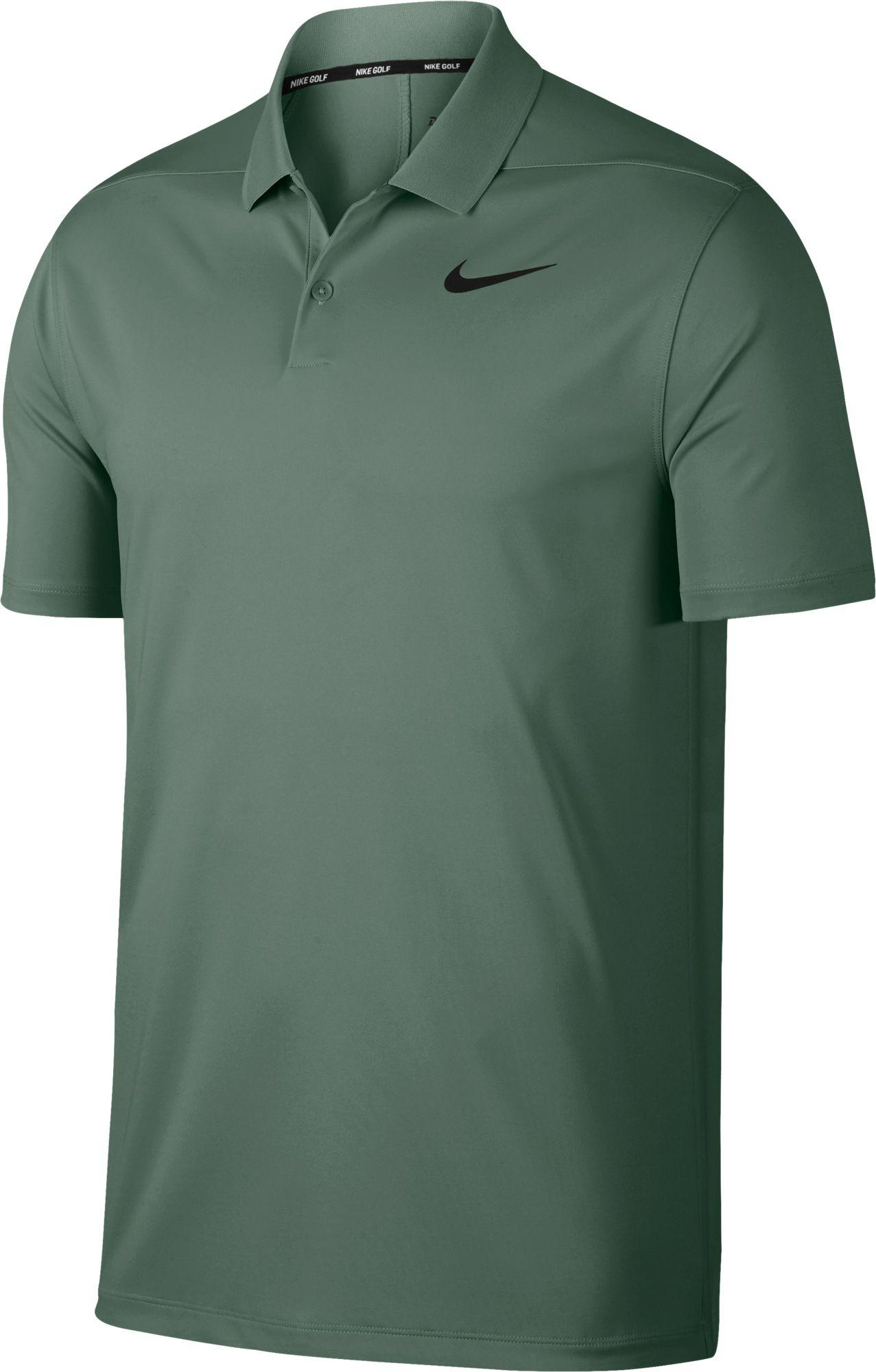 dea695bdf Nike Solid Dry Victory Golf Polo in Green for Men - Lyst