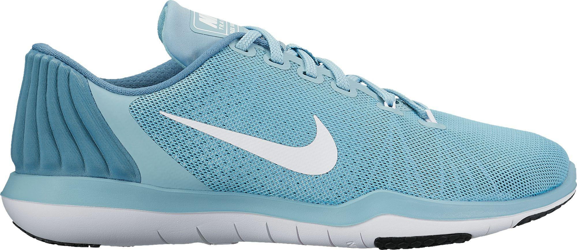 e2ac0090d33b3 Lyst - Nike Flex Supreme Tr 5 Training Shoes in Blue