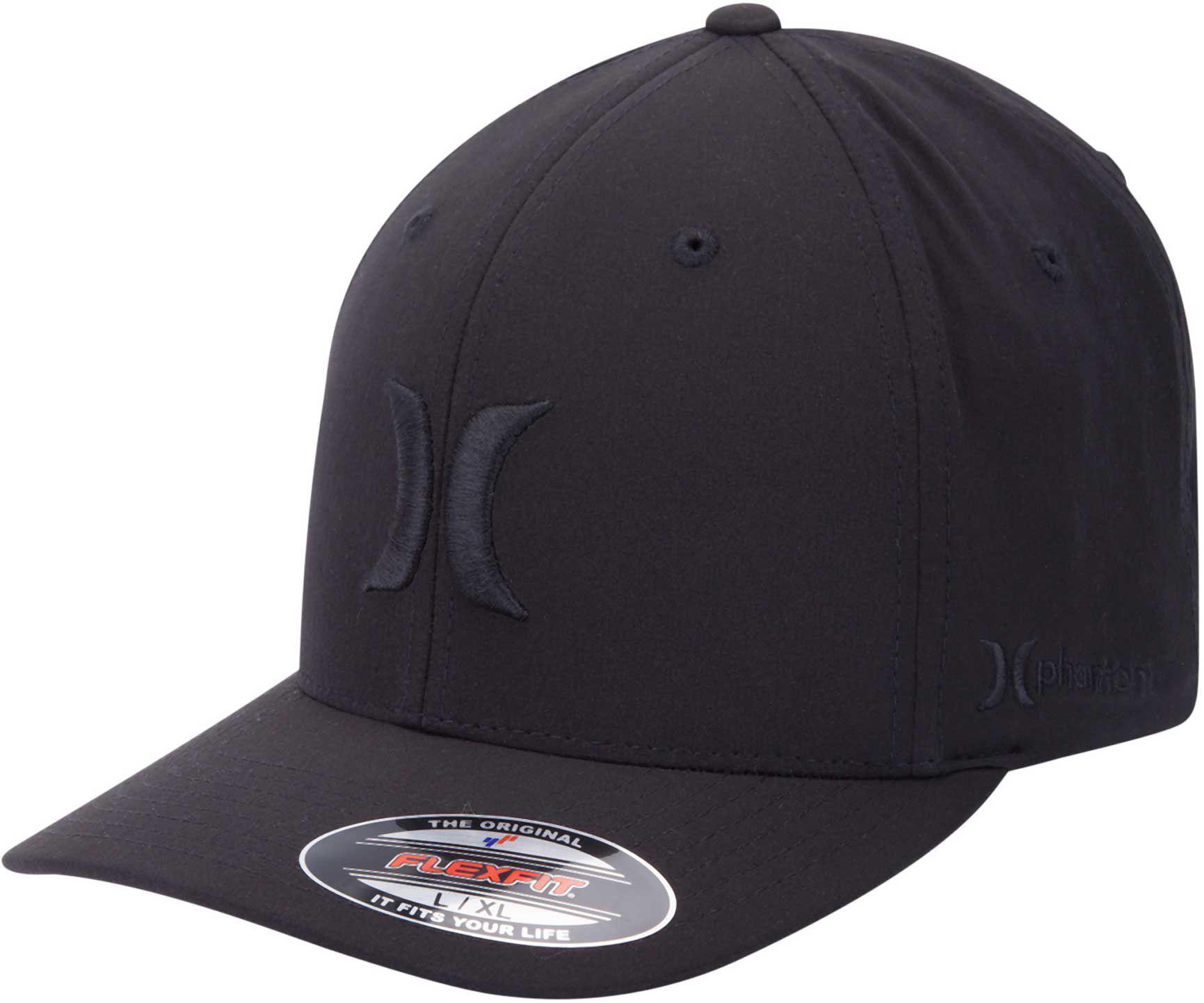 meet 137f8 43ee1 ... low cost lyst hurley phantom boardwalk flexfit hat in black for men  87651 c0aac