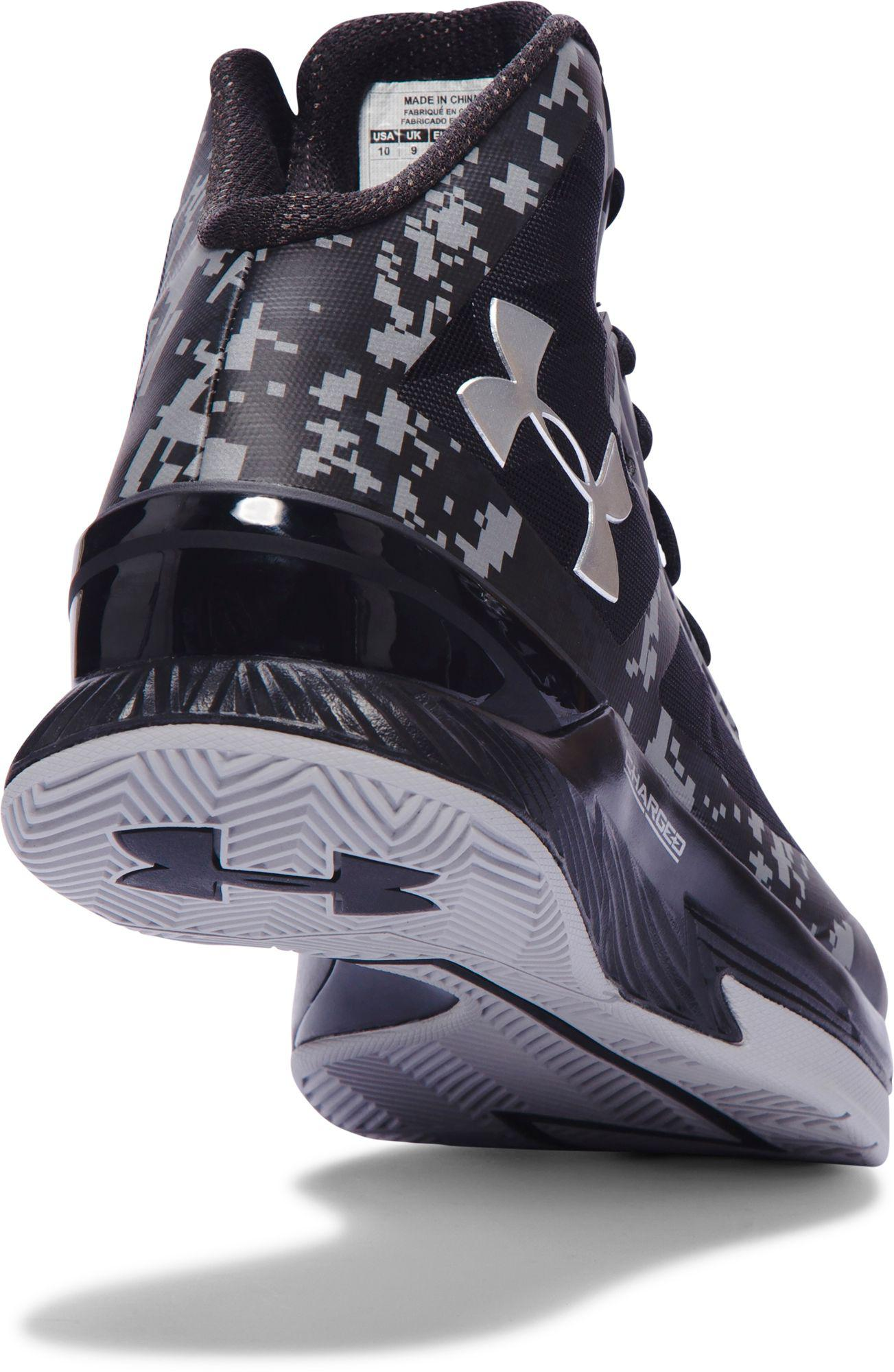 4f84e5dc8 Under Armour - Black Clutchfit Lightning Basketball Shoes for Men - Lyst