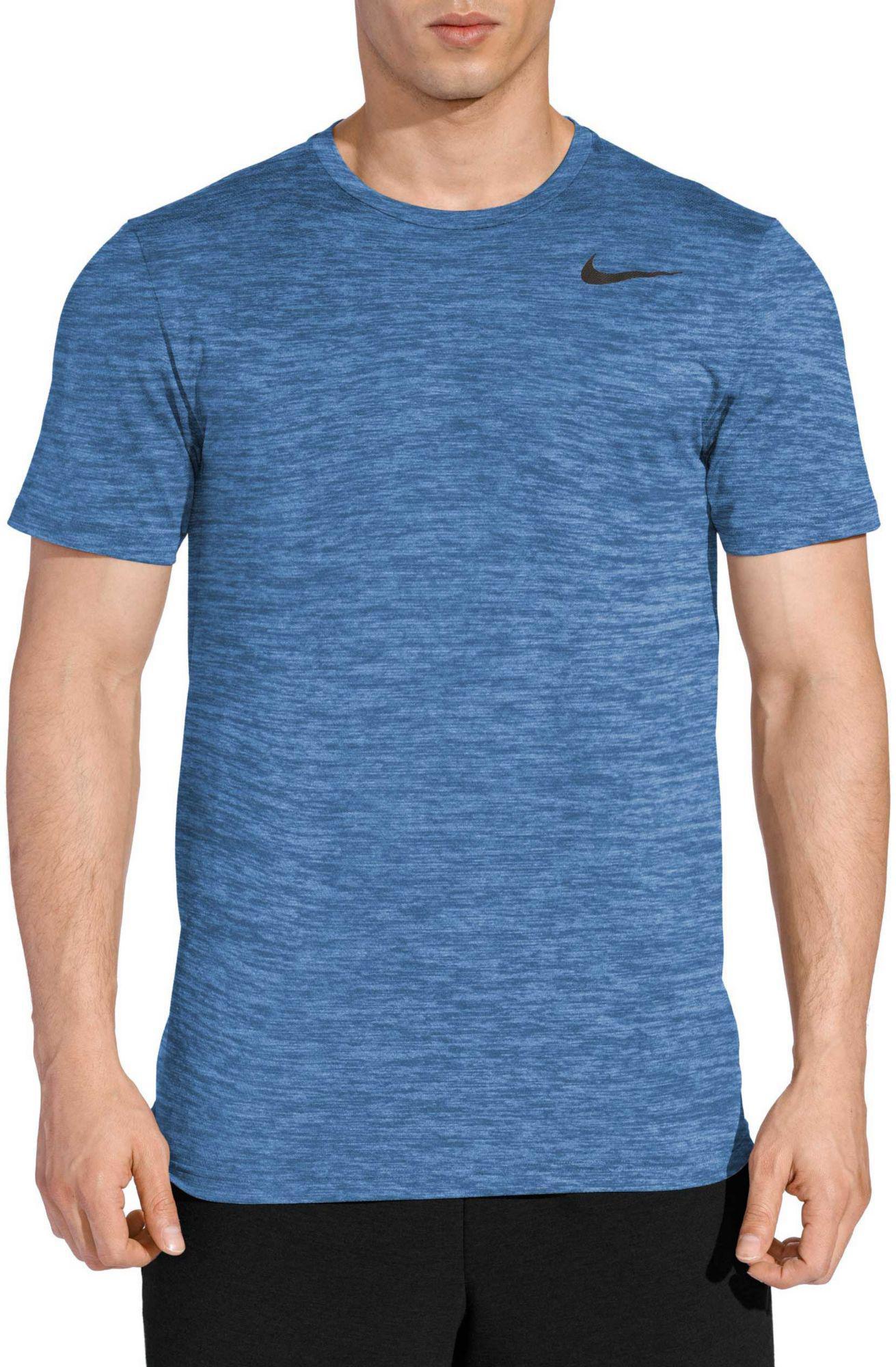 64ffbdf13 Nike Dri-fit Utility Static Training Tee in Blue for Men - Lyst