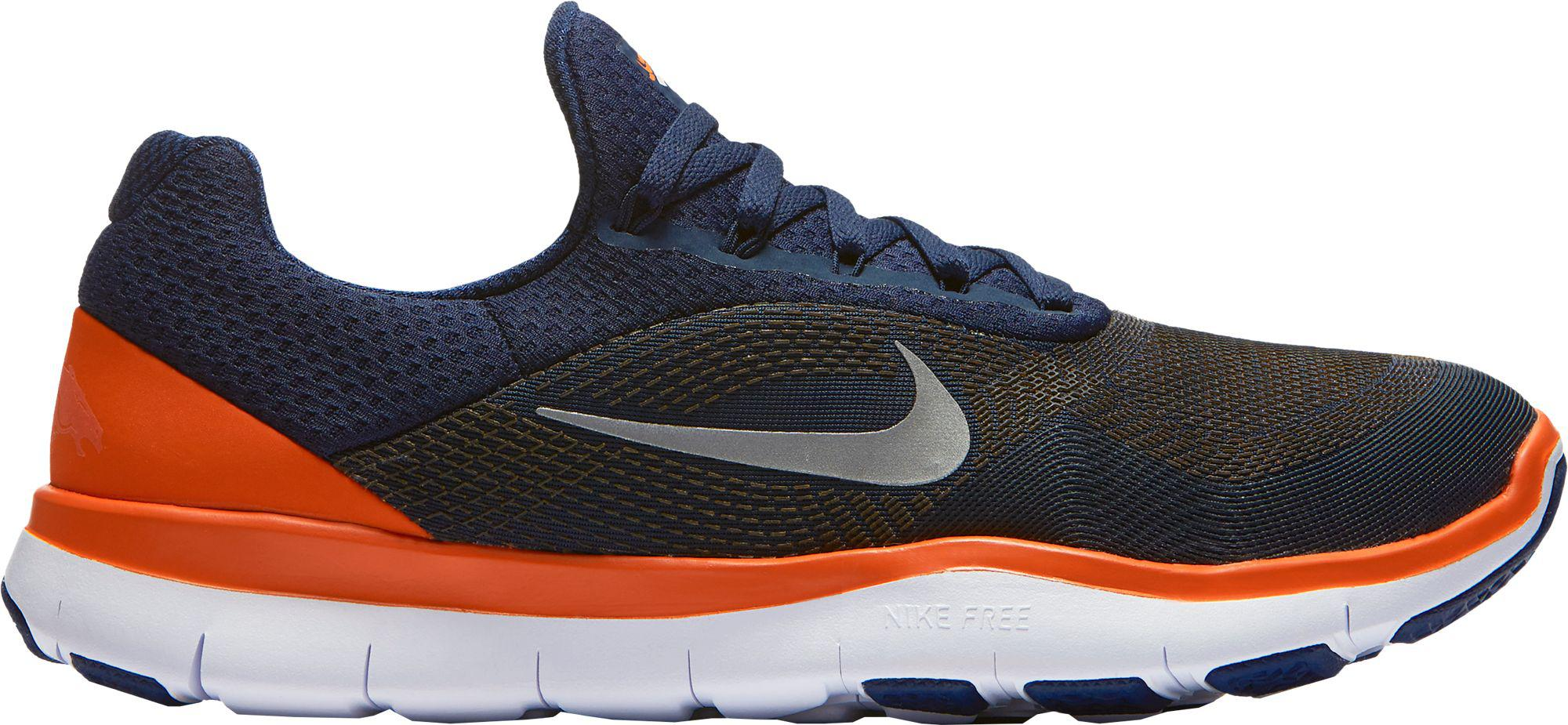 best service 9e664 aa579 Nike - Blue Free Trainer V7 Nfl Broncos Training Shoes for Men - Lyst