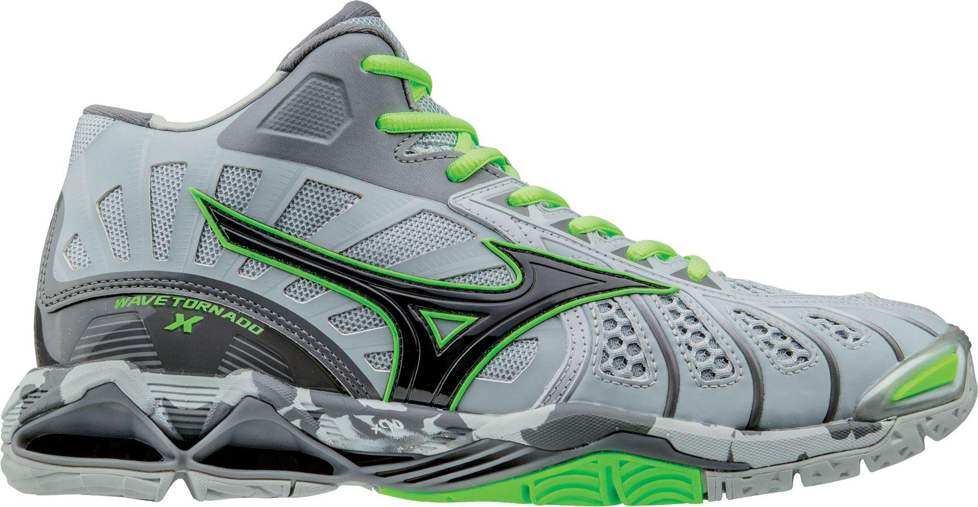 64d3a45840797 Lyst - Mizuno Wave Tornado X Mid Volleyball Shoes in Green for Men