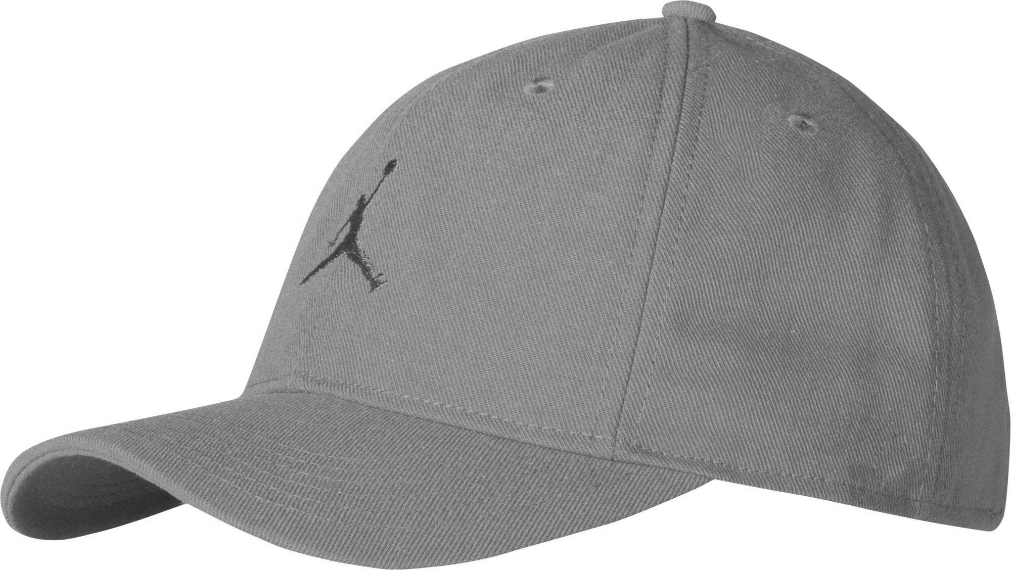 Lyst - Nike Jordan Boys  Jumpman Floppy Snapback Hat in Gray for Men c1804f859ec