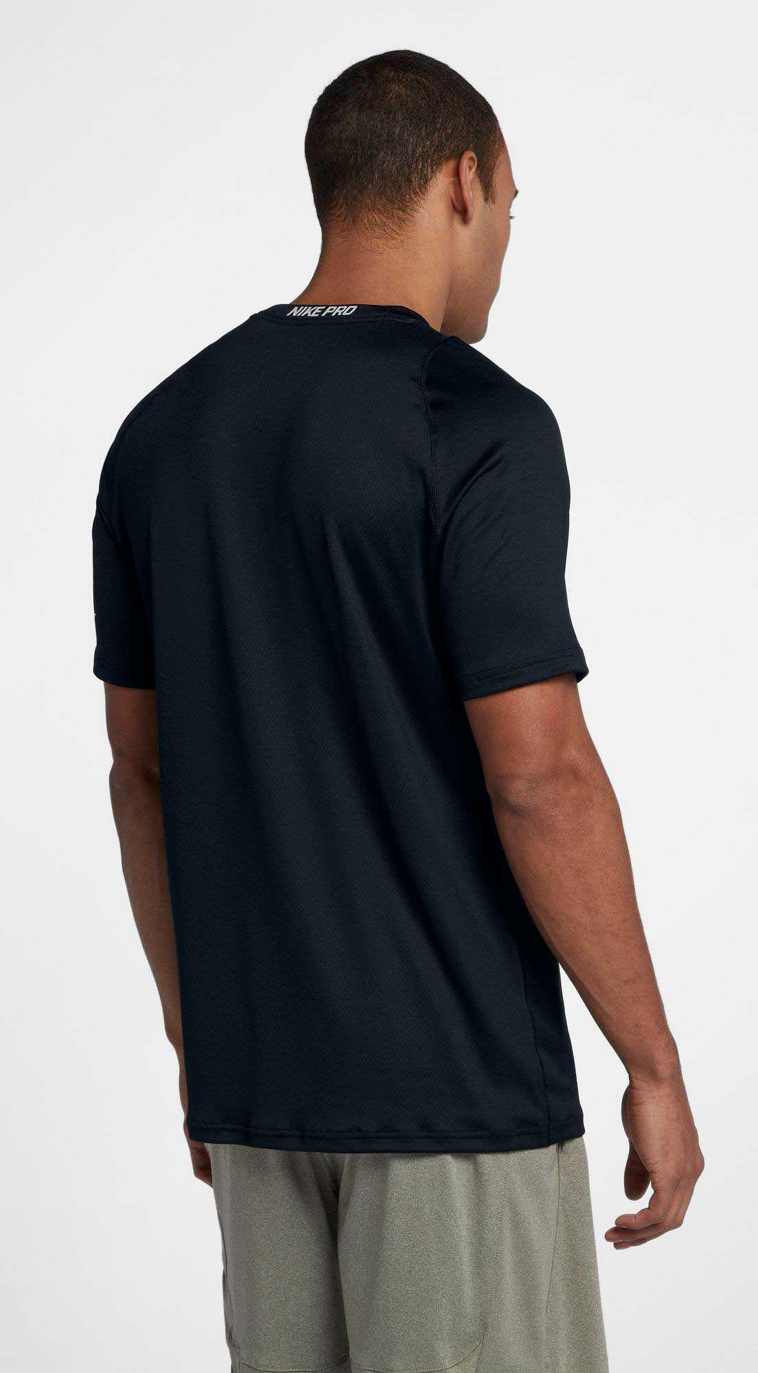 6fb450c3 Nike Pro Colorburst 2 T-shirt in Black for Men - Lyst