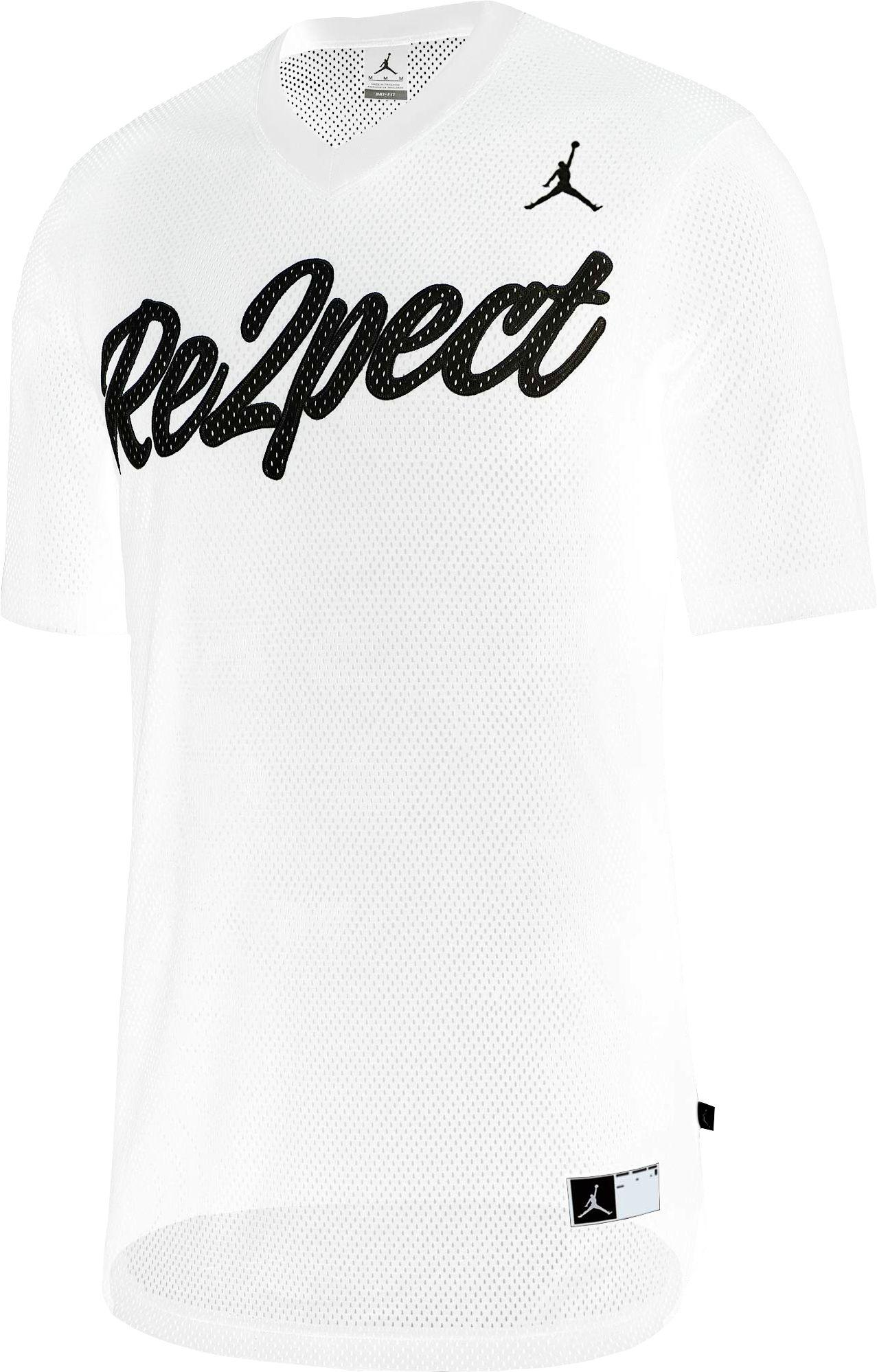 3e3a932ed04387 Lyst - Nike Re2pect Graphic Baseball Jerse in White for Men