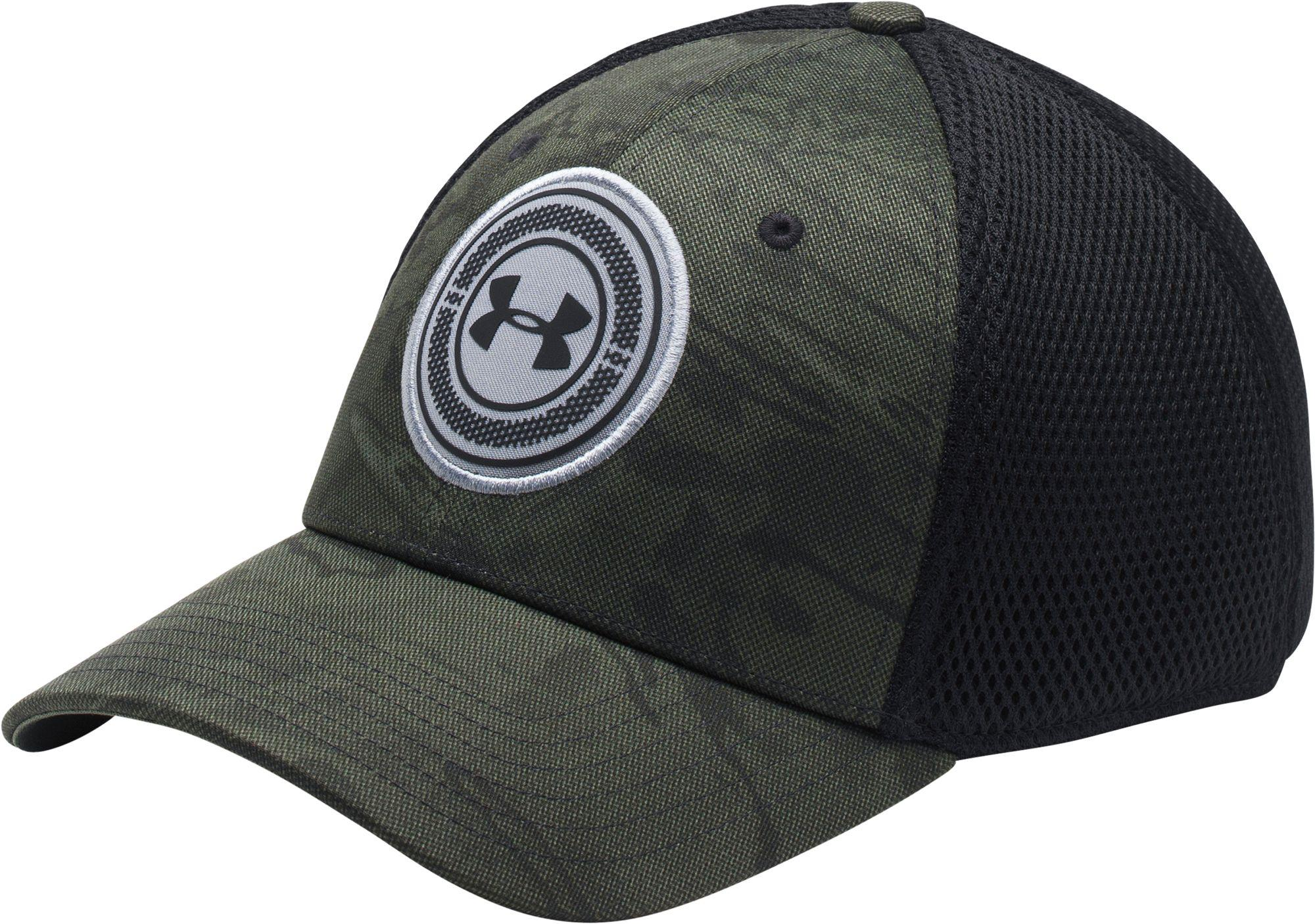 Lyst - Under Armour Men s Ua Golf Eagle 4.0 Cap in Black for Men ... 78f520f98a2f