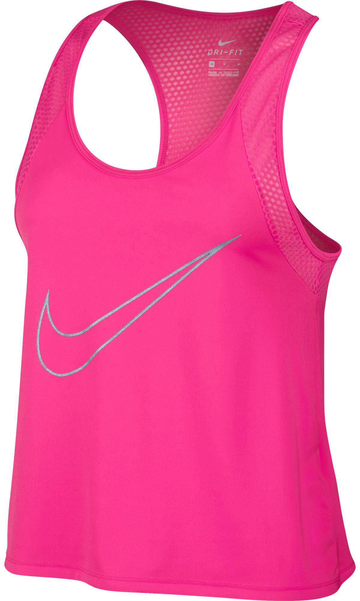 Lyst - Nike Dry Run Fast Running Tank Top in Pink 5aaad8255