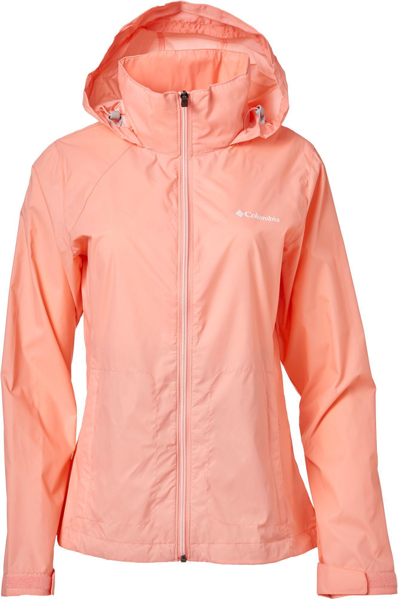 365350e3b96 Columbia - Pink Switchback Rain Jacket - Lyst