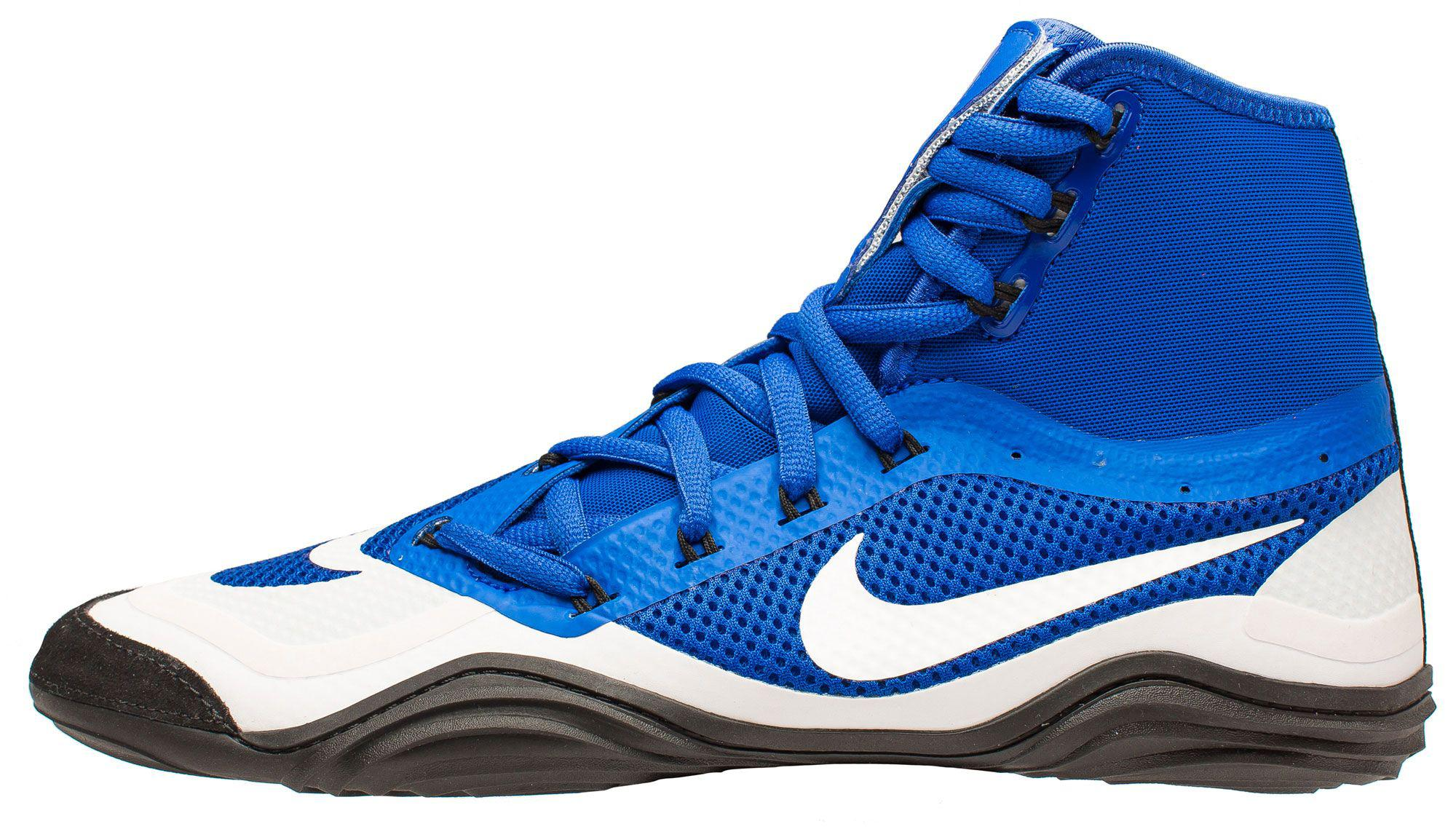 Lyst - Nike Hypersweep Wrestling Shoes in Blue for Men a616bdad7