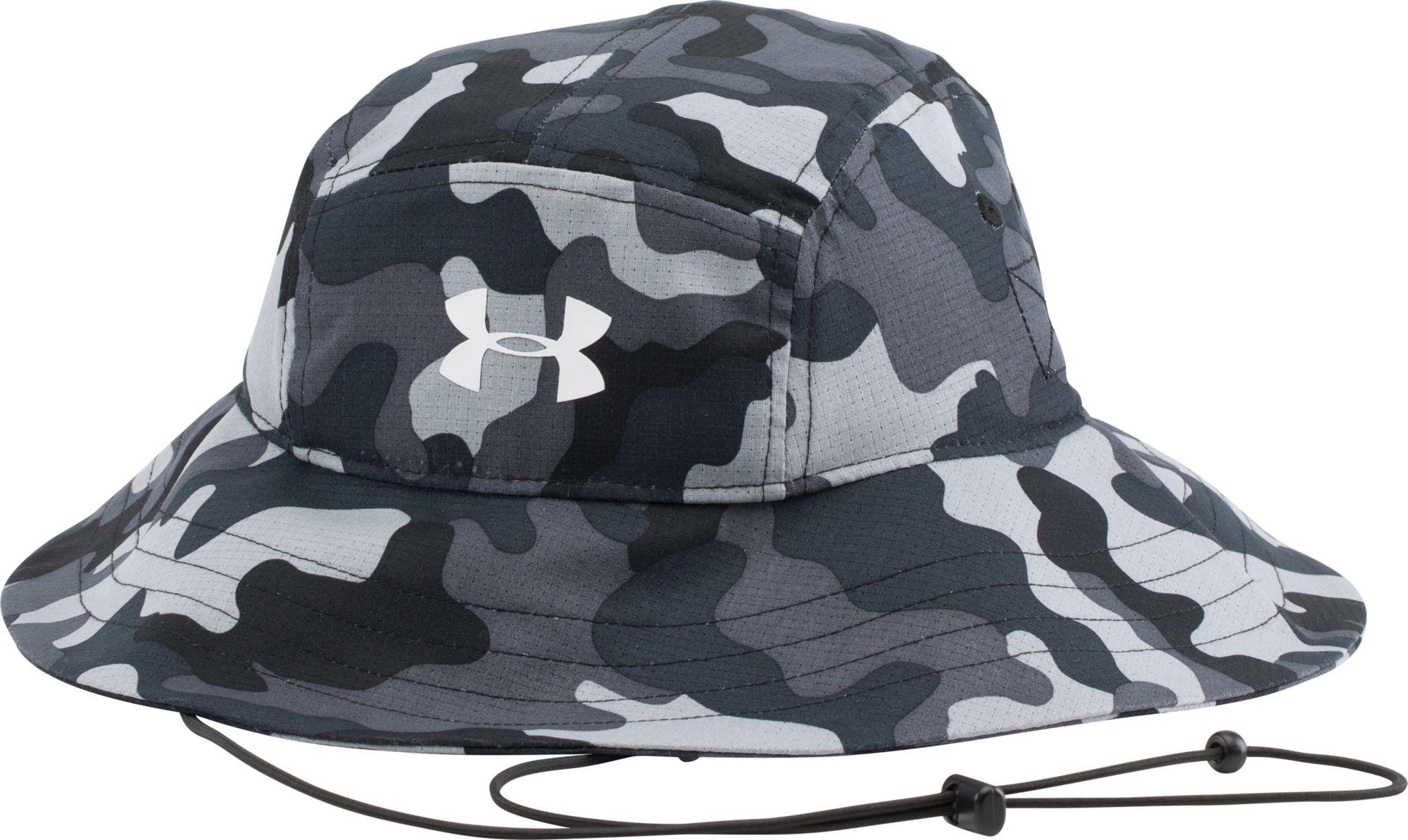 b60802c67a22a Under Armour Ua Airvent Bucket Hat in Black for Men - Lyst