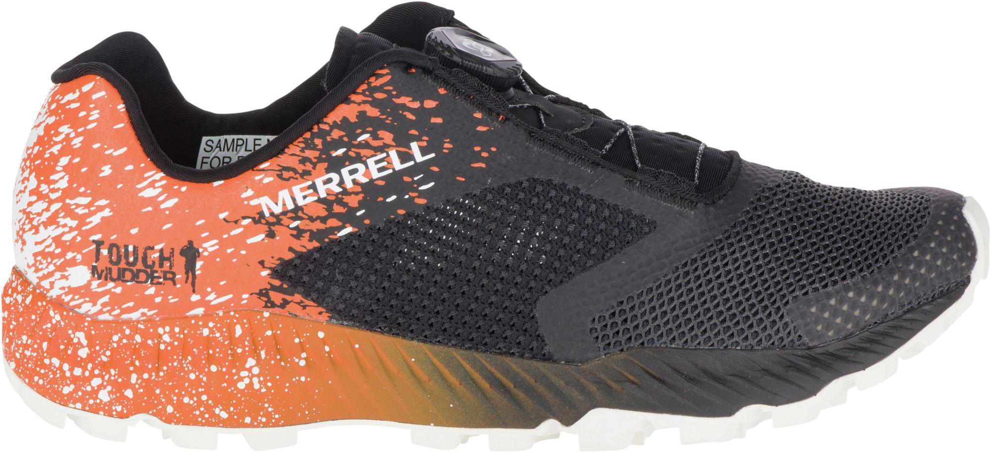 dec6f9bdfac Merrell - Orange All Out Crush 2 Tough Mudder Boa Trail Running Shoes for  Men -. View fullscreen