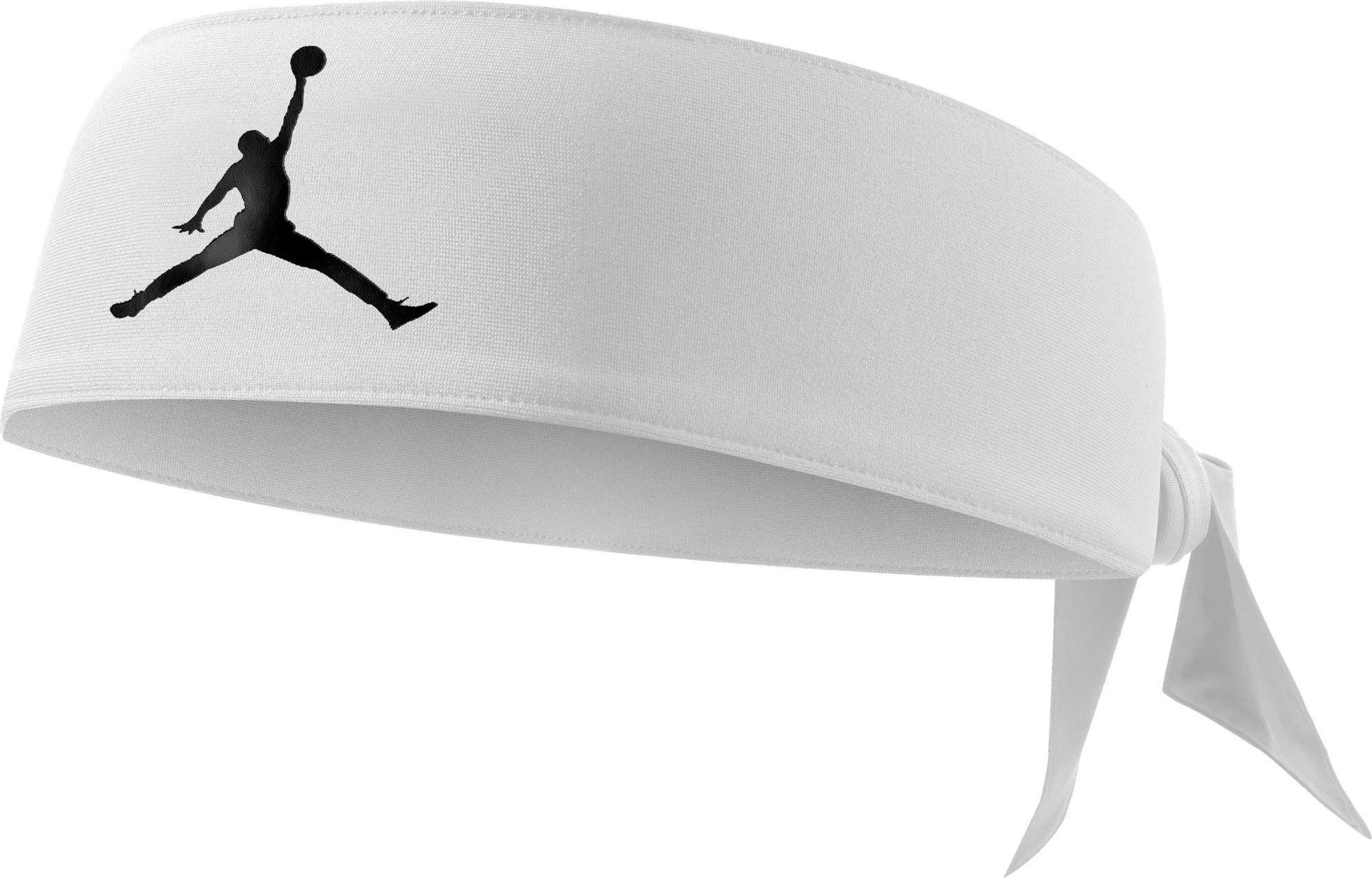 Nike. Men's White Jordan Jumpman Dri-fit Head Tie. $15 From Dick's Sporting  Goods ...