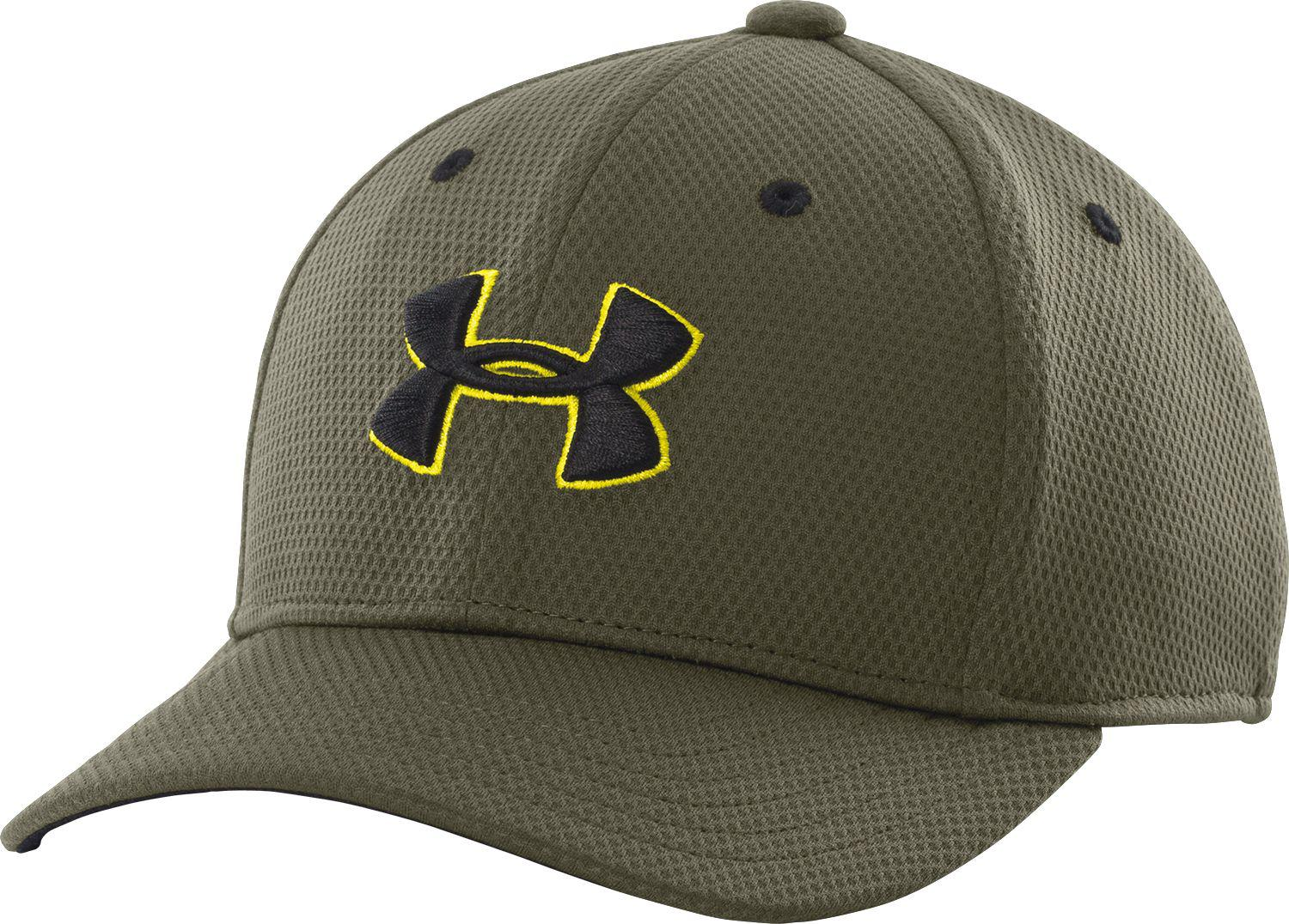 838234e51ef Lyst - Under Armour Oys  Blitzing Stretch Fit Hat Ii in Green for Men