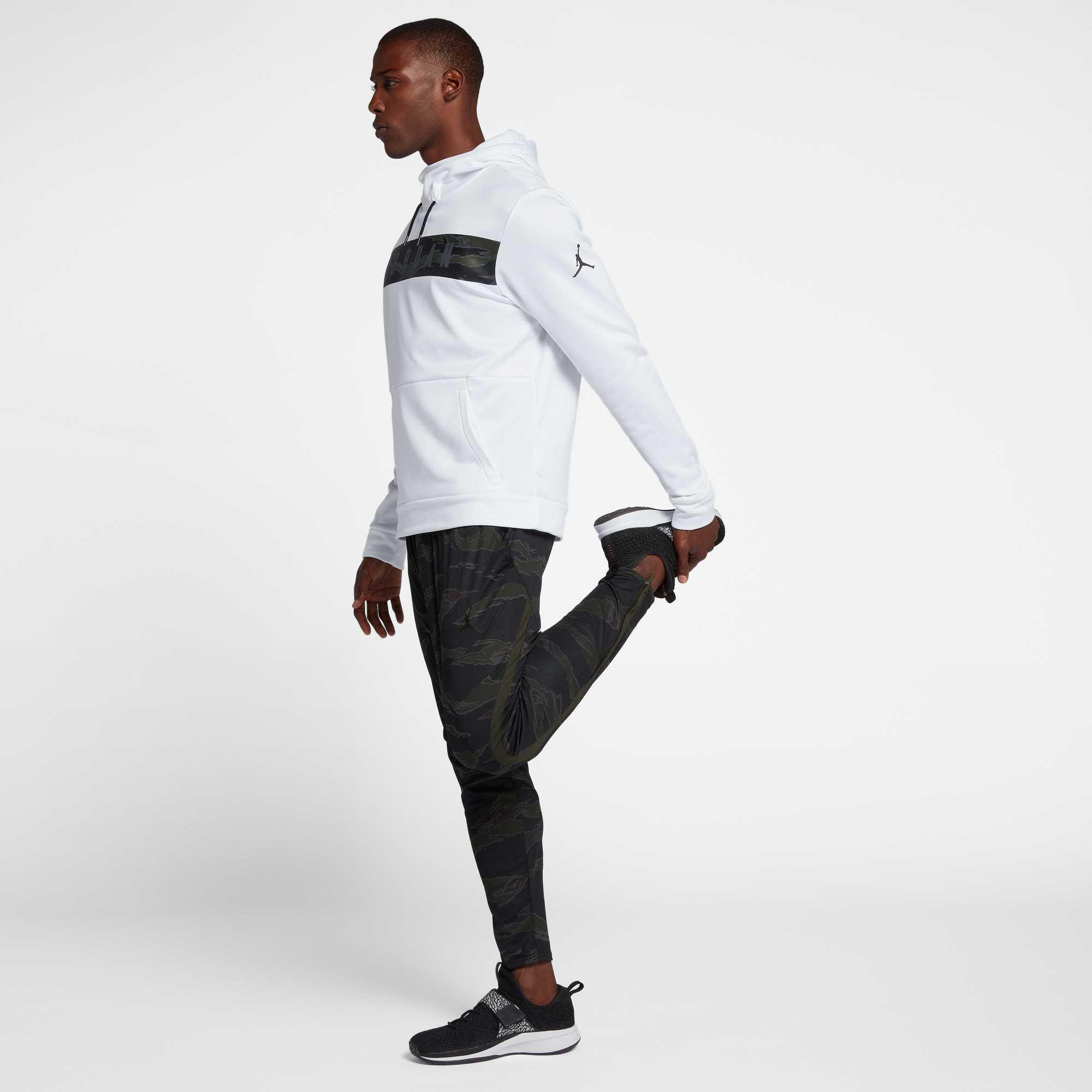 ec312fbaf1a Nike Therma 23 Alpha Printed Pullover Hoodie in White for Men - Lyst