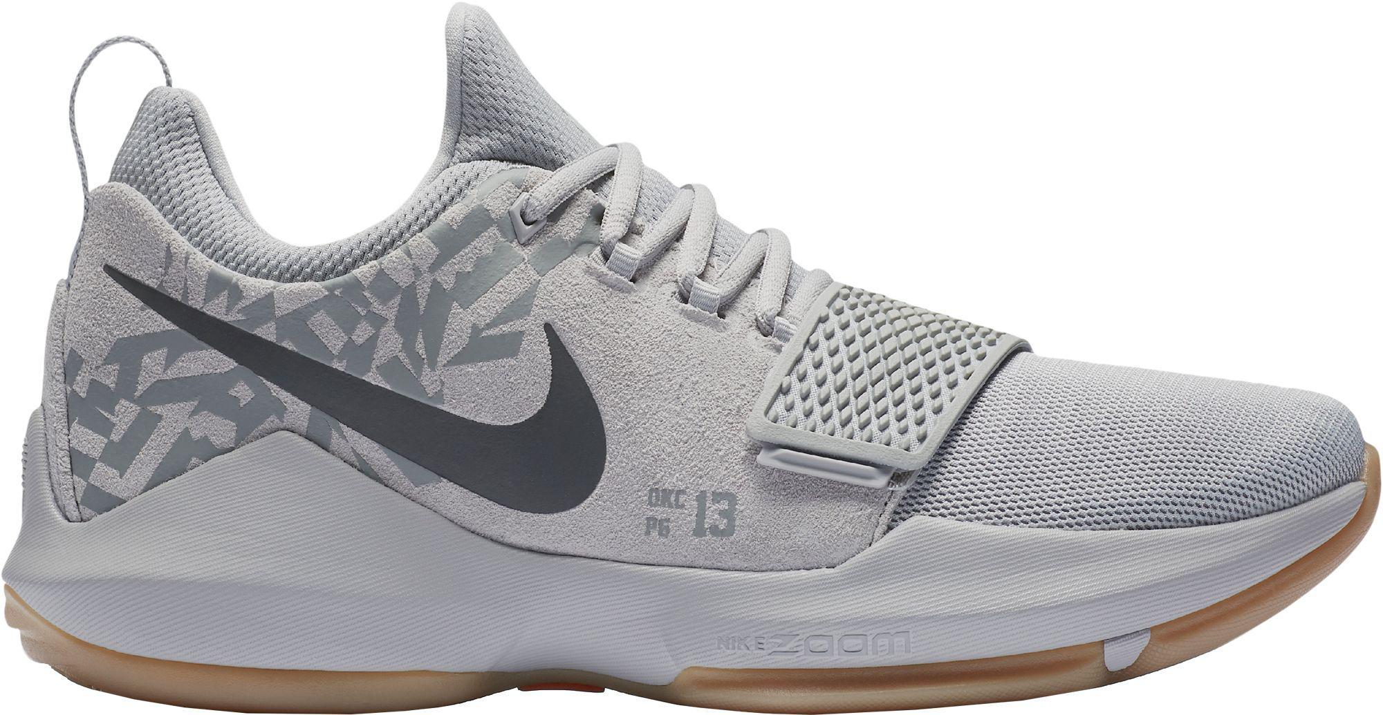 aea4d415427d ... promo code for nike gray pg 1 basketball shoes for men lyst ea382 3587c