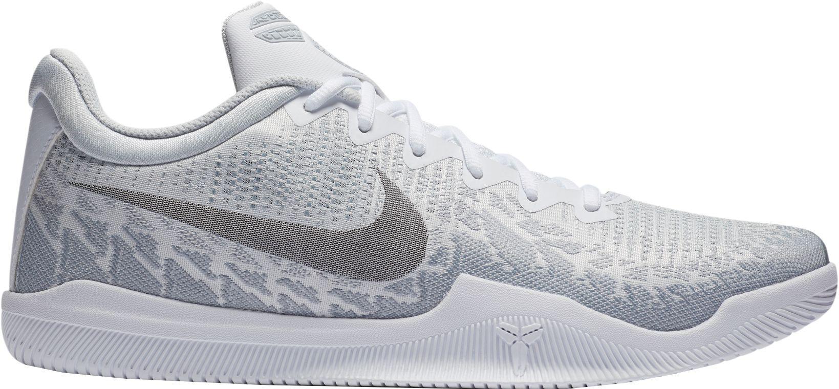 61fc037f036 Nike Kobe Mamba Rage Basketball Shoes in White for Men - Lyst