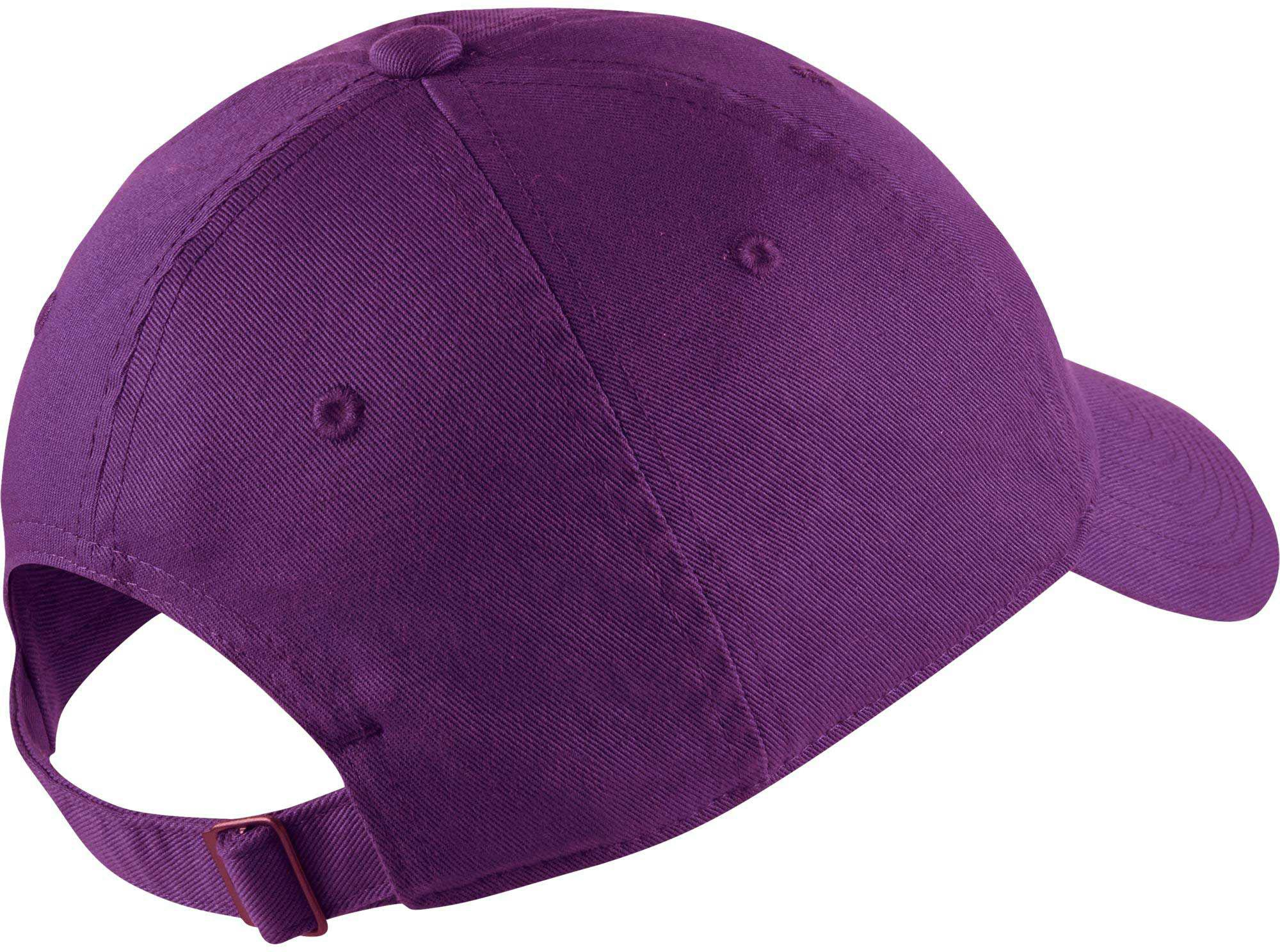 size 40 588b8 608c4 Lyst - Nike Twill H86 Adjustable Hat in Purple