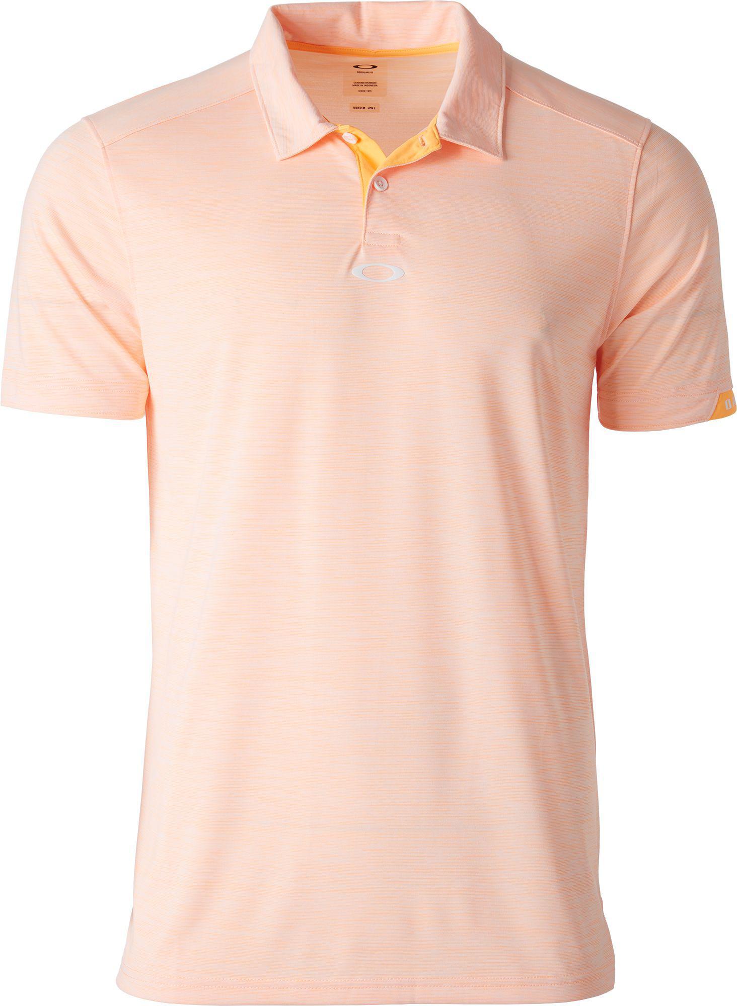 67cccb1828 Lyst - Oakley Gravity Golf Polo in Orange for Men