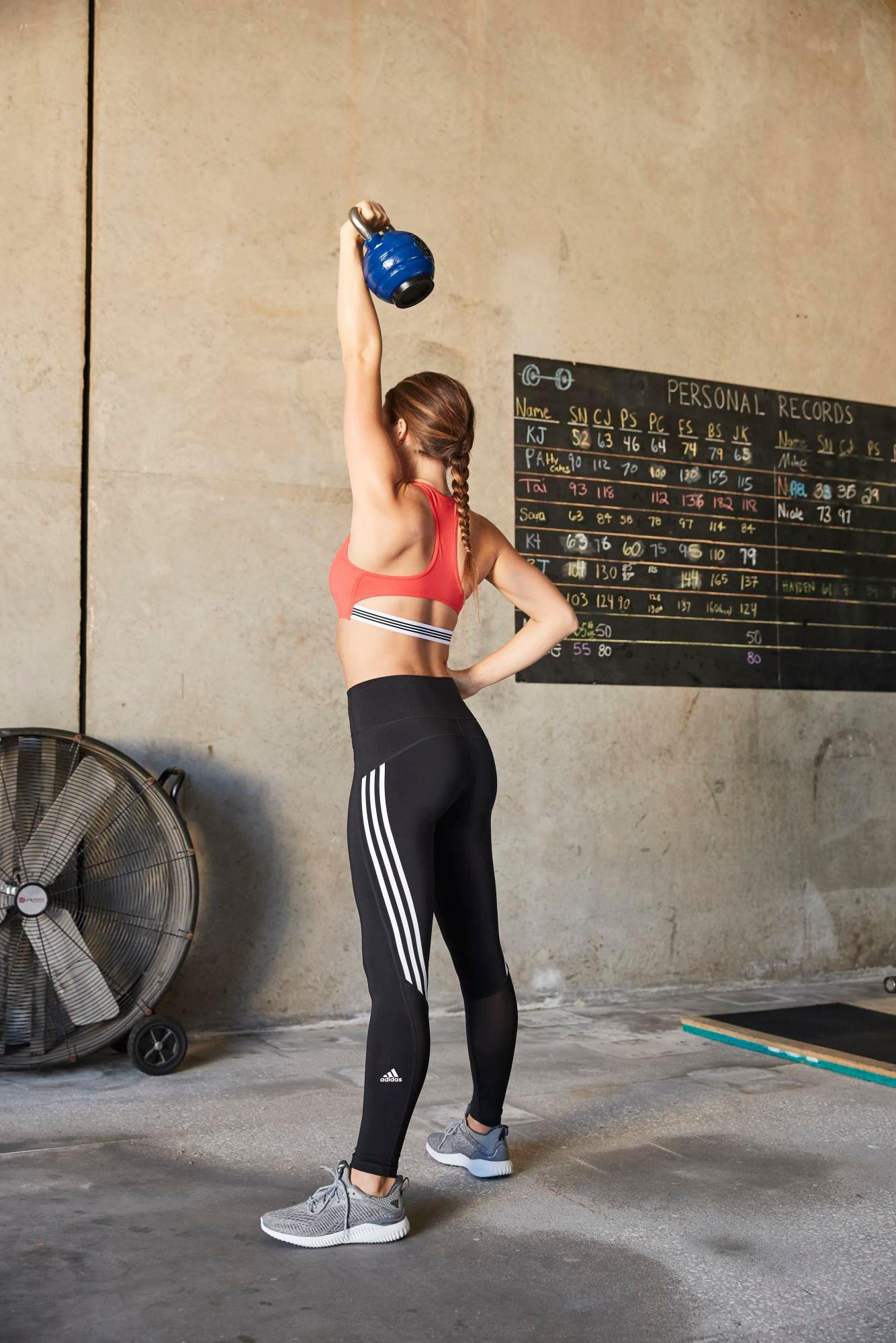 c9f690f6a51dc3 adidas Elieve This 3-stripe 7/8 Training Tights in Black - Lyst