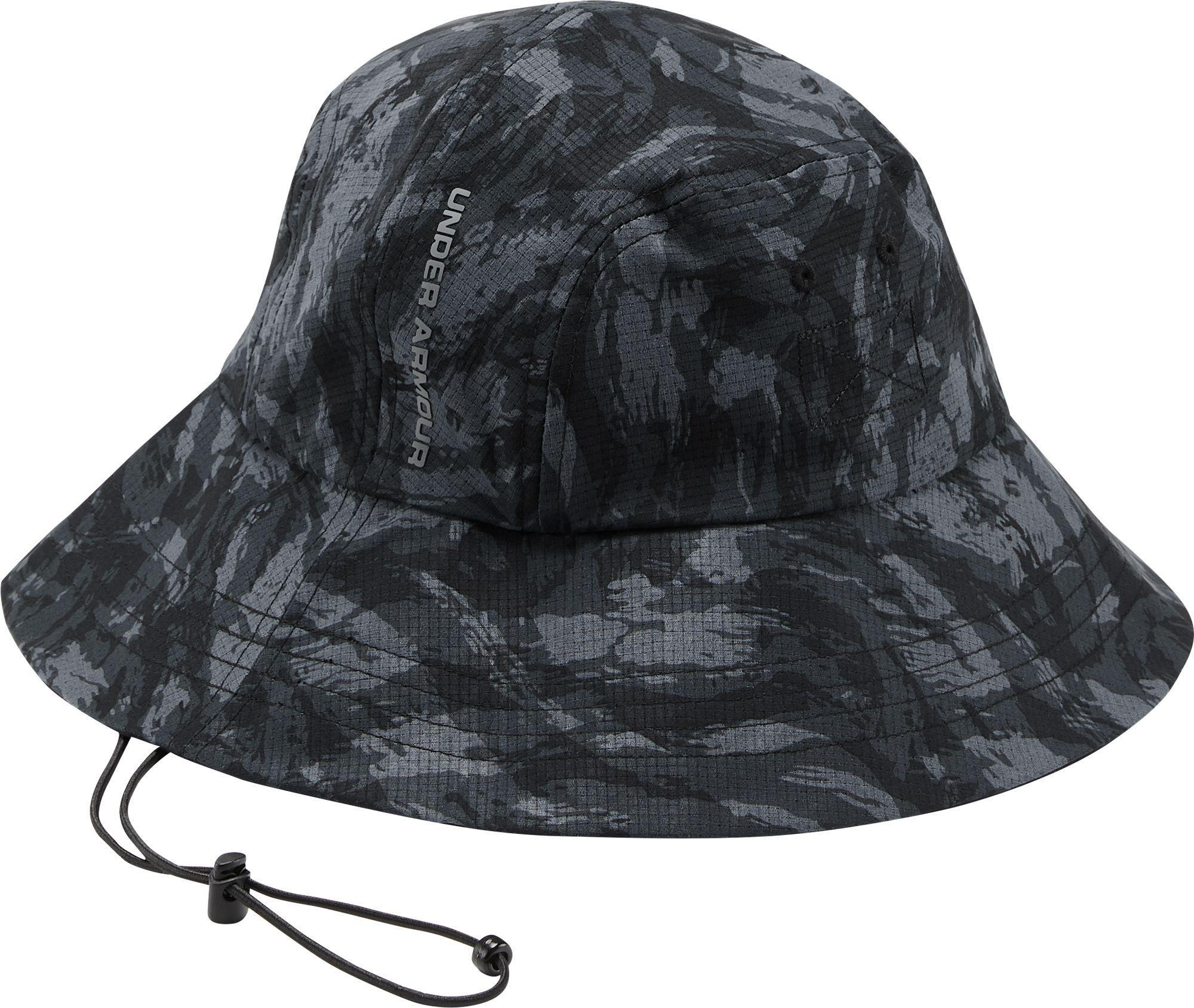 790bc582541 Lyst - Under Armour Armourvent Warrior 2.0 Bucket Hat in Black for Men