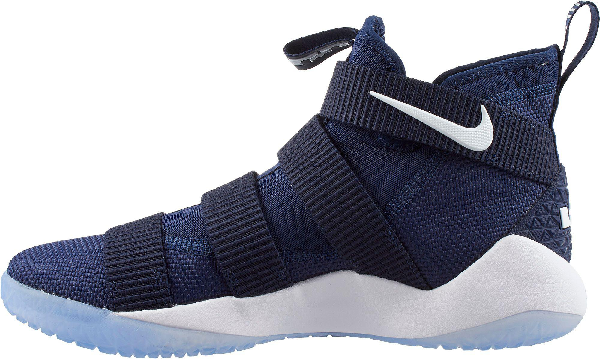 fce3bcbeb4b Lyst - Nike Zoom Lebron Soldier Xi Basketball Shoes in Blue for Men