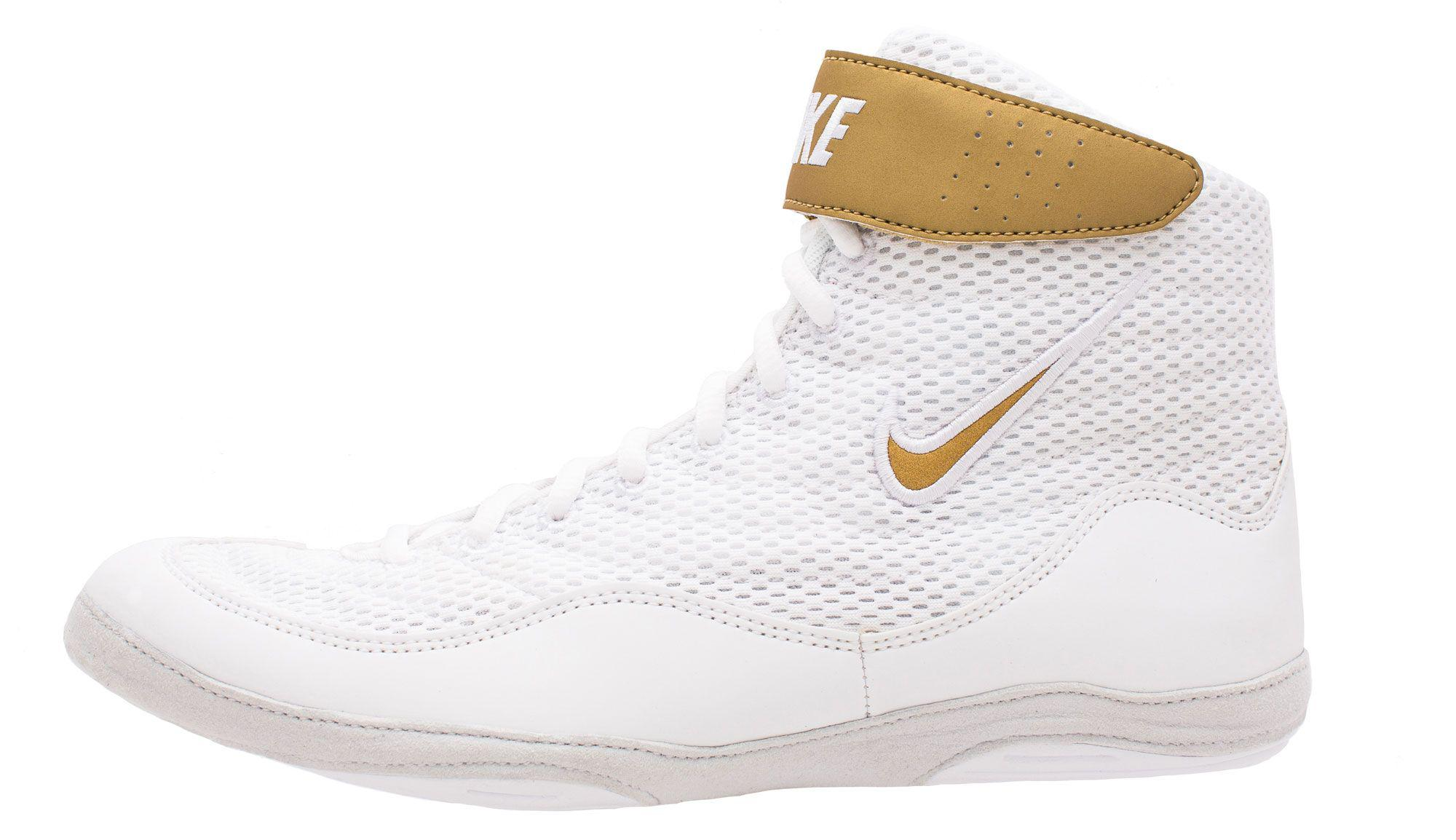Lyst - Nike Inflict 3 Wrestling Shoes in White for Men 6f6101c35