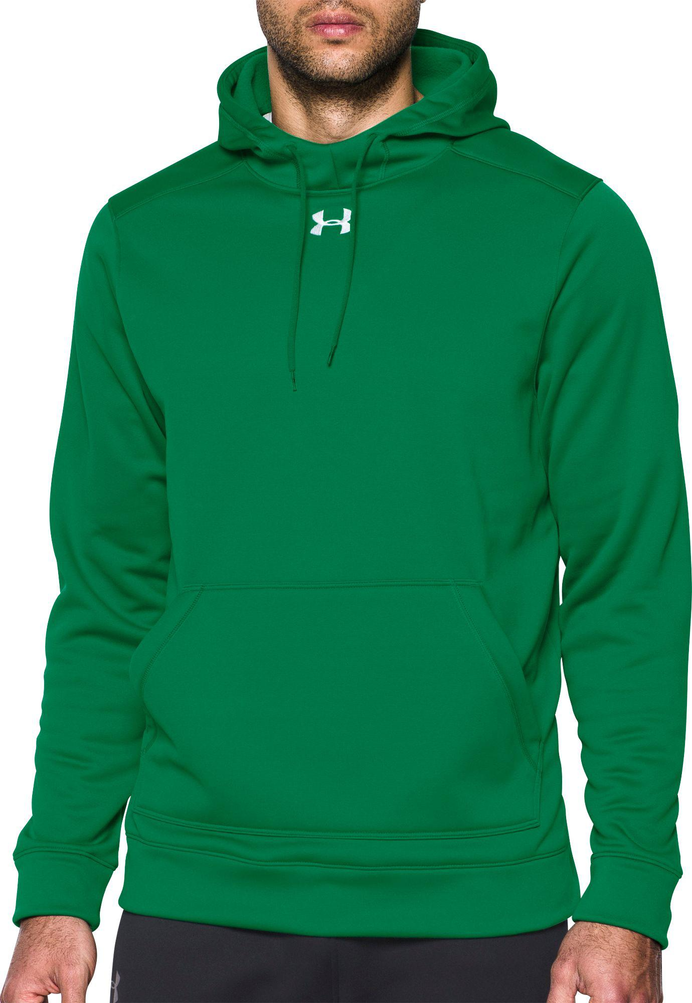 c9e89c91d Under Armour Storm Armour Fleece Team Hoodie in Green for Men - Lyst